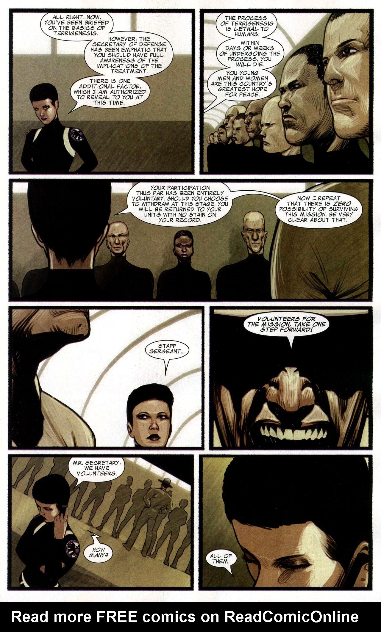 Read online Silent War comic -  Issue #4 - 19