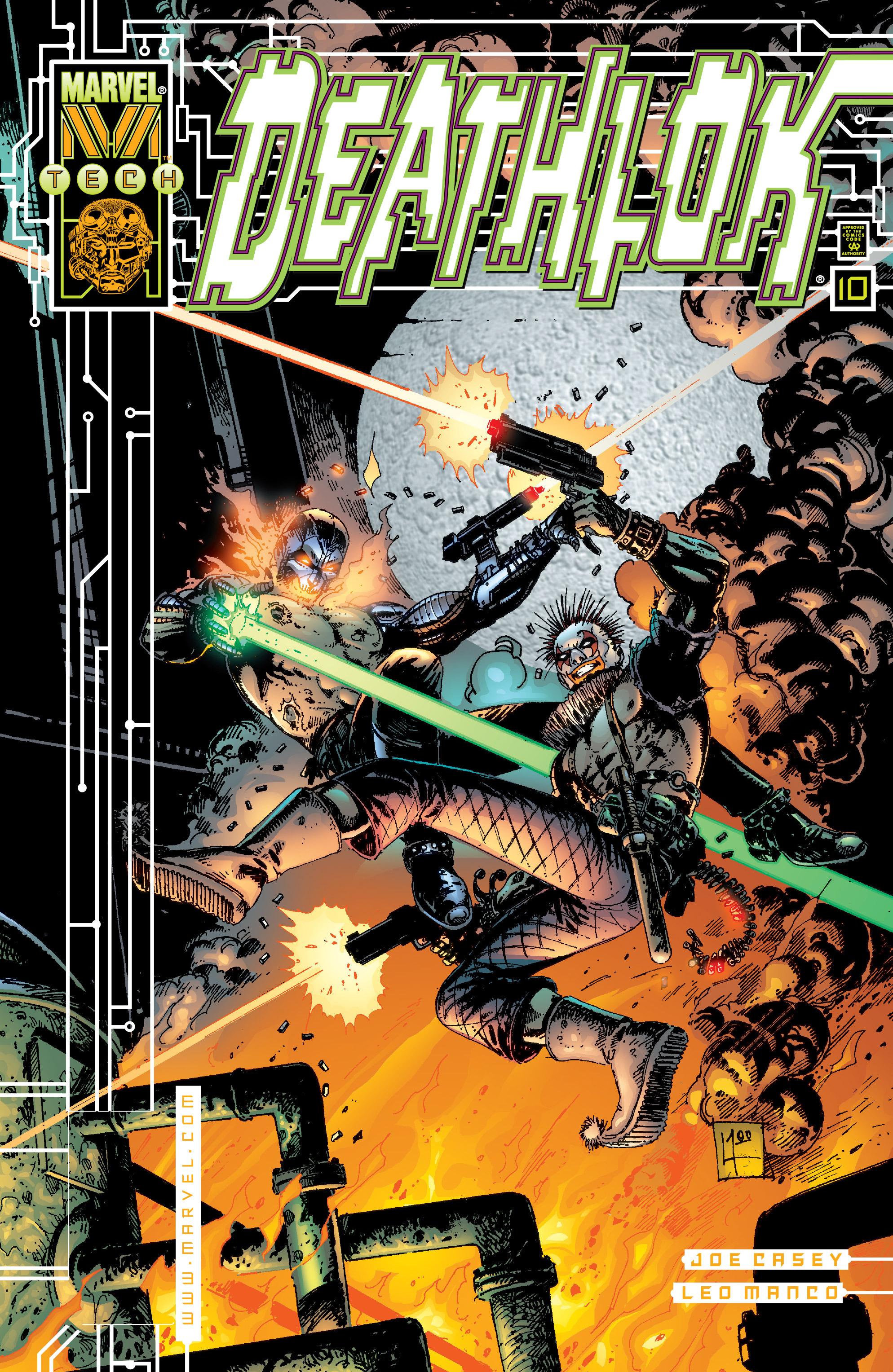 Deathlok (1999) 10 Page 1