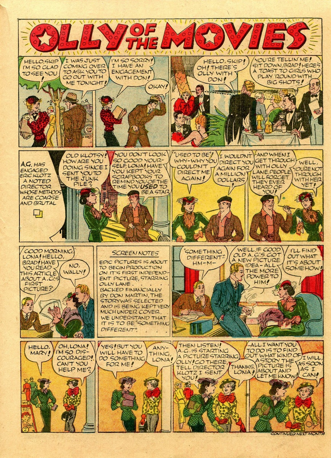 Read online Famous Funnies comic -  Issue #56 - 45