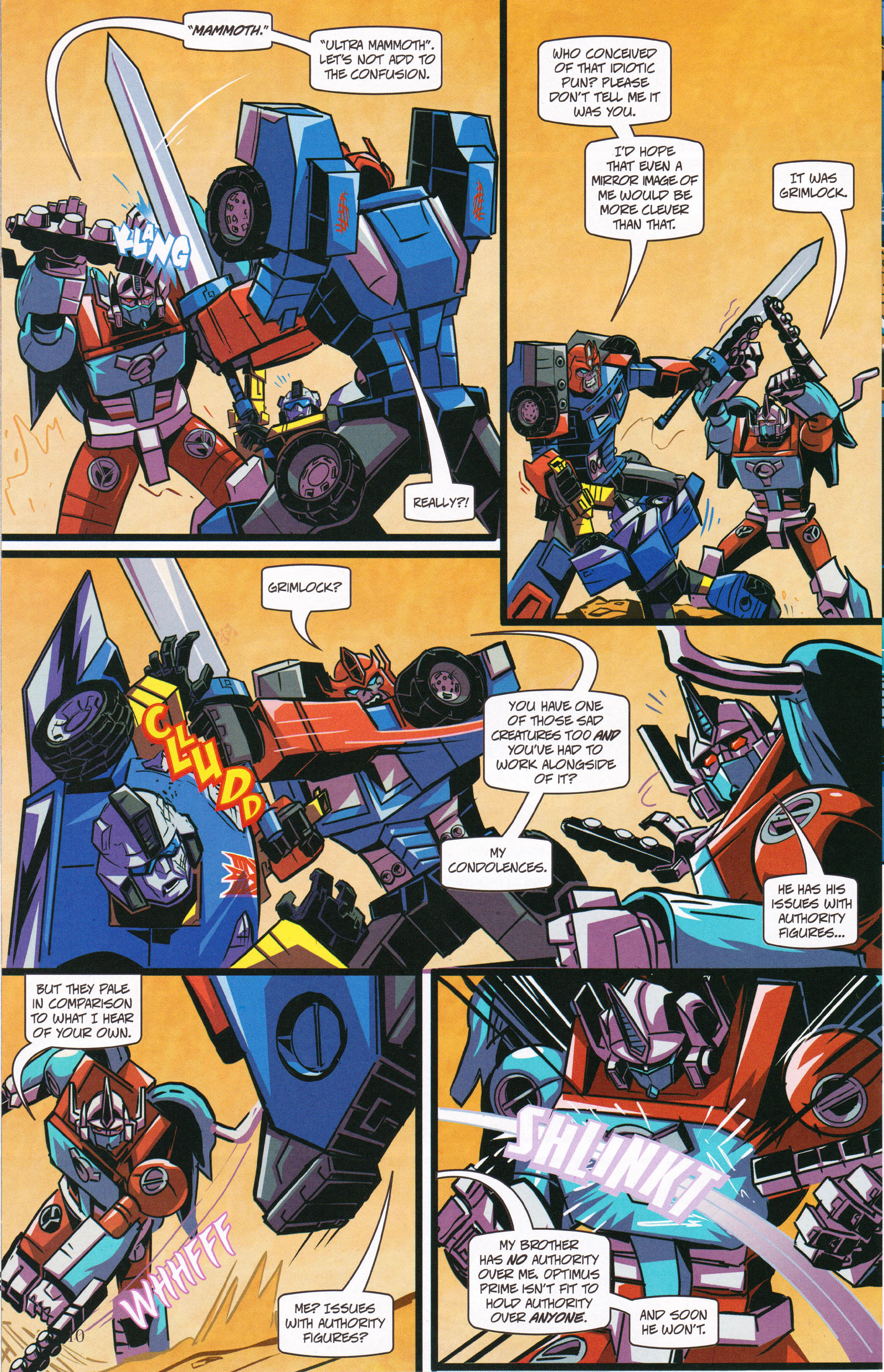 Read online Transformers: Collectors' Club comic -  Issue #62 - 10