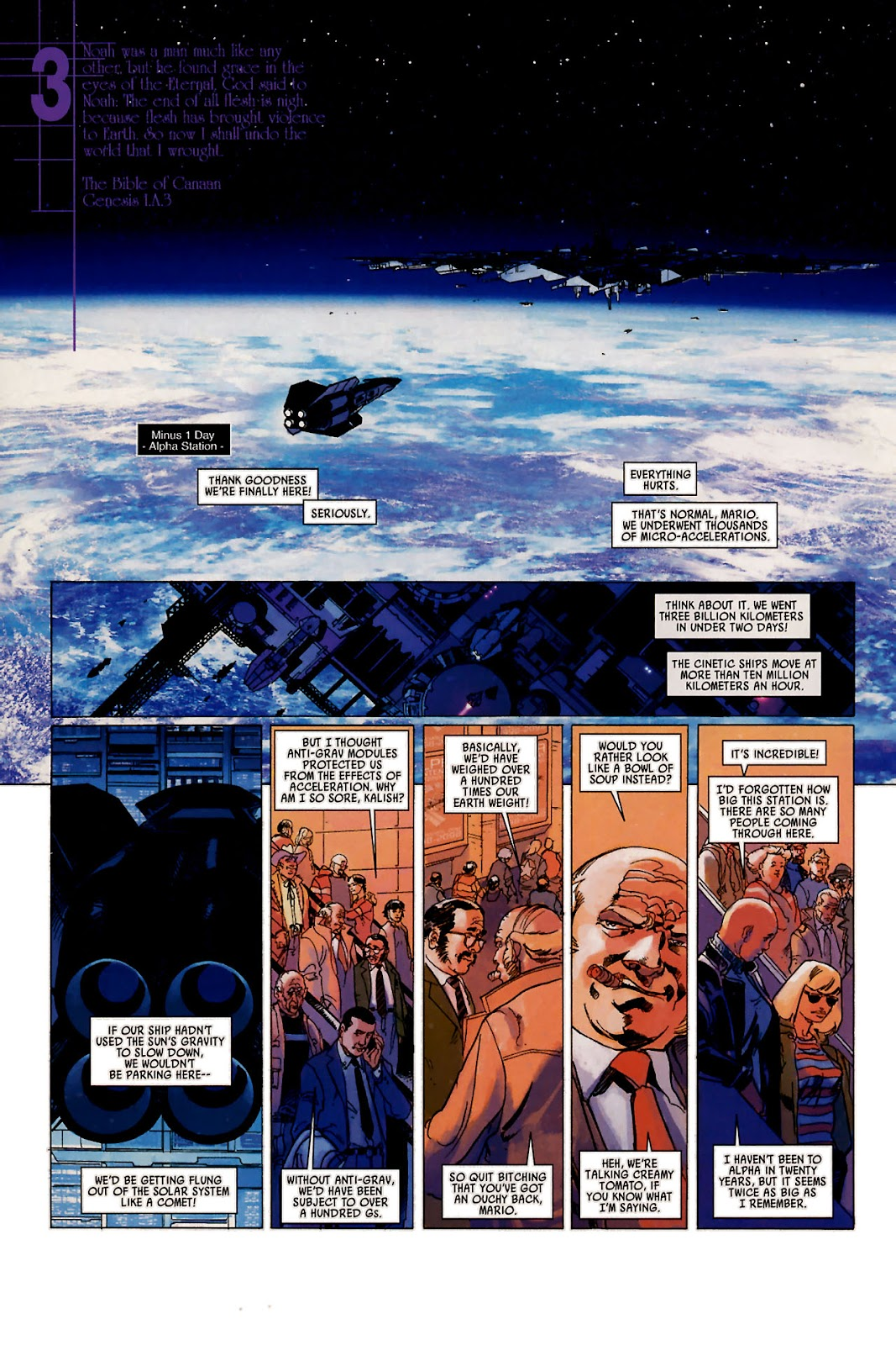 Read online Universal War One: Revelations comic -  Issue #1 - 17