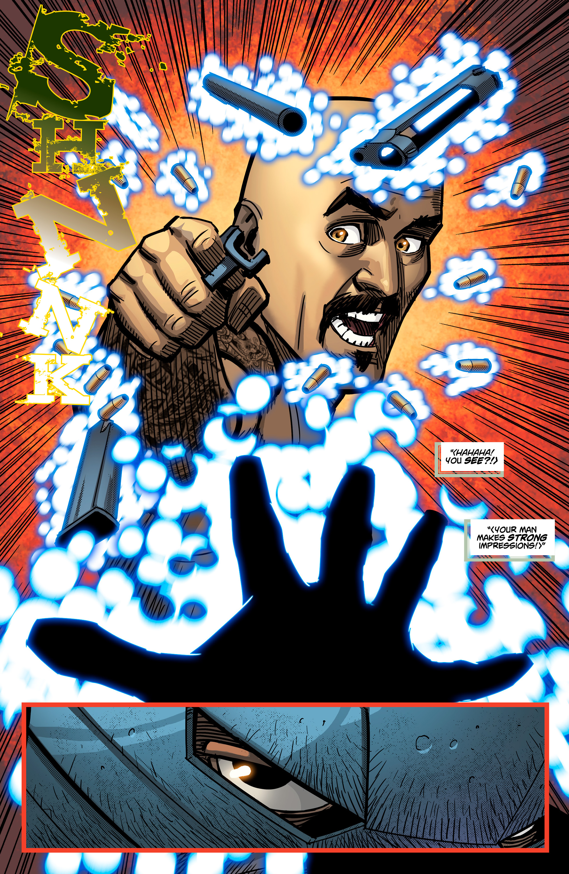 Read online Noble comic -  Issue #2 - 19
