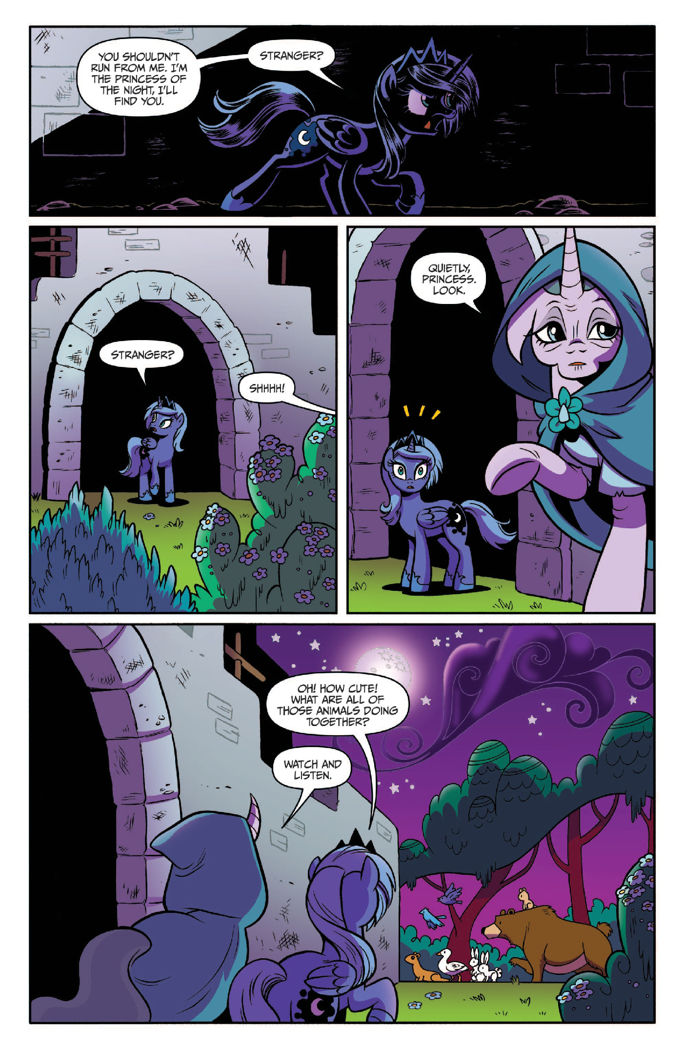 Read online My Little Pony: Legends of Magic comic -  Issue #3 - 11