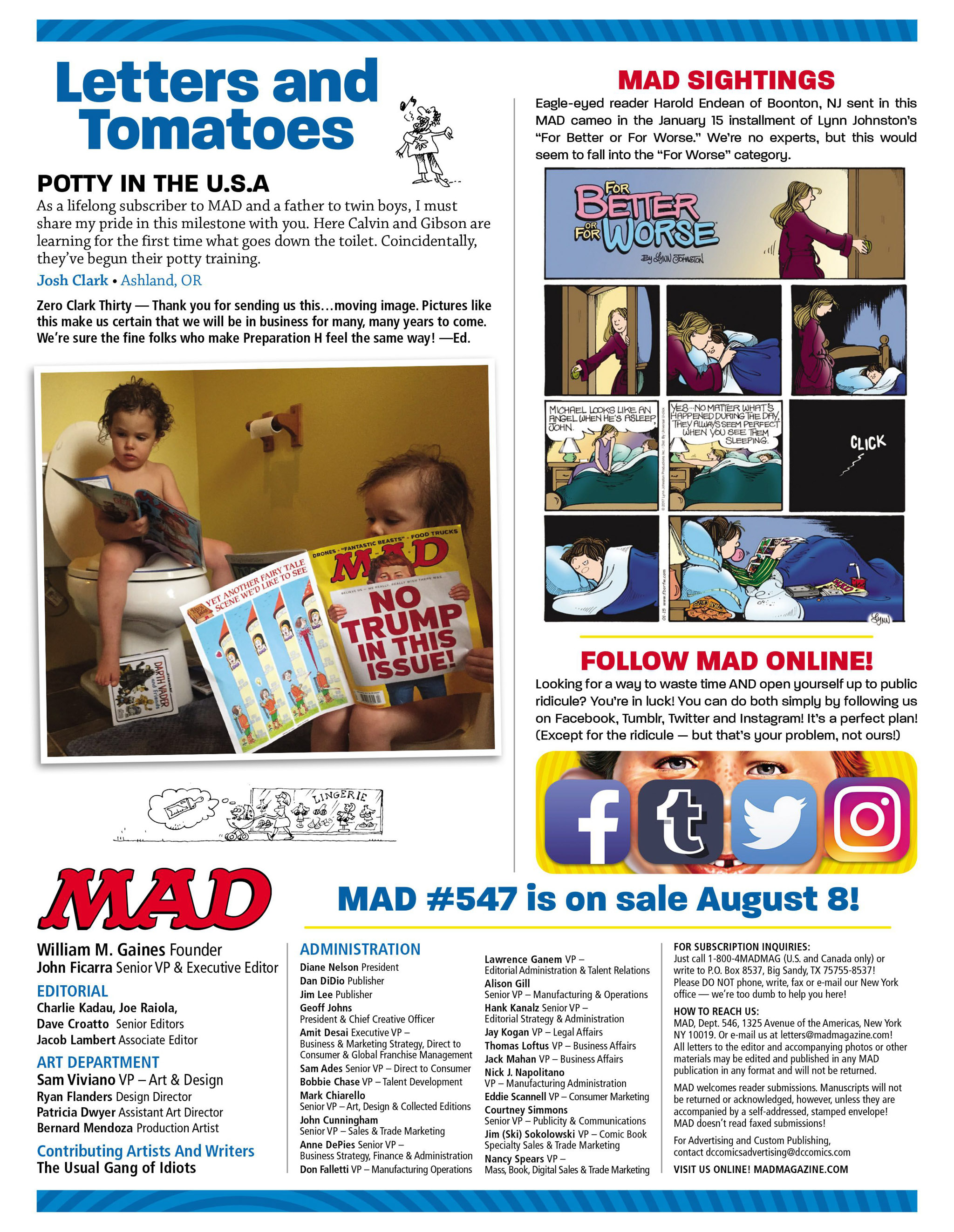 Read online MAD comic -  Issue #546 - 6