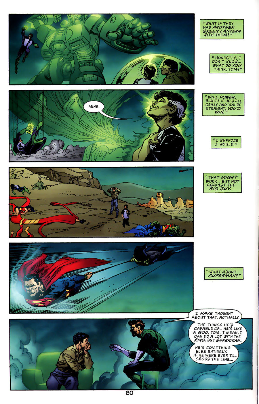 Read online Green Lantern: Legacy: The Last Will and Testament of Hal Jordan comic -  Issue # TPB - 86