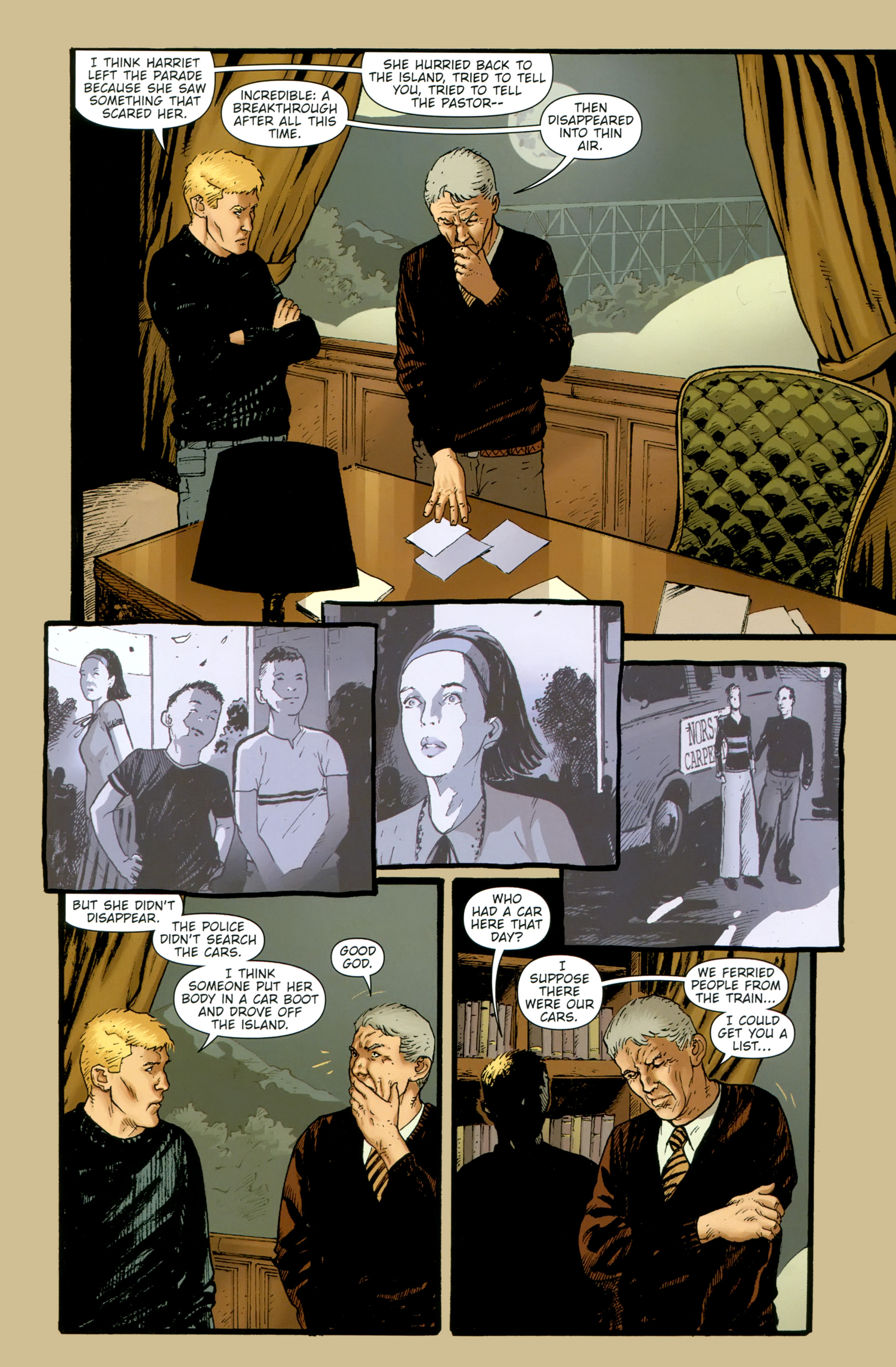 Read online The Girl With the Dragon Tattoo comic -  Issue # TPB 2 - 37