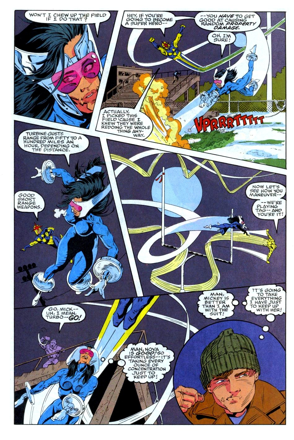 The New Warriors Issue #35 #39 - English 8