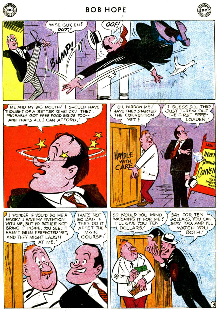 The Adventures of Bob Hope issue 68 - Page 5