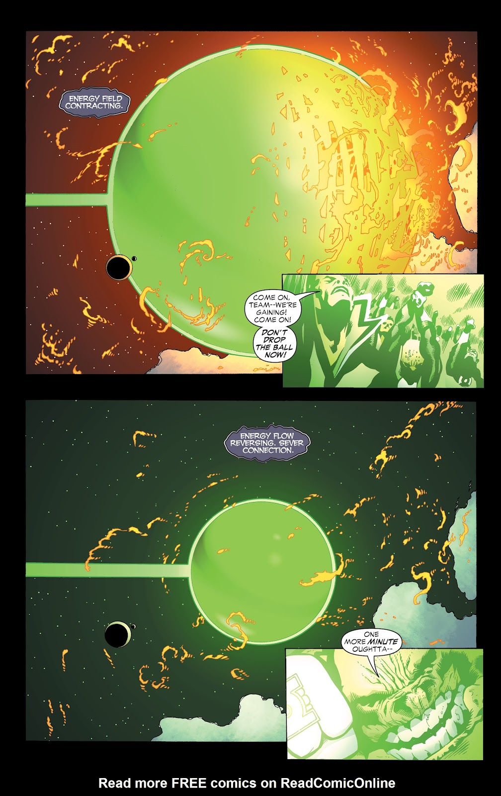 Read online Green Lantern by Geoff Johns comic -  Issue # TPB 1 (Part 3) - 86