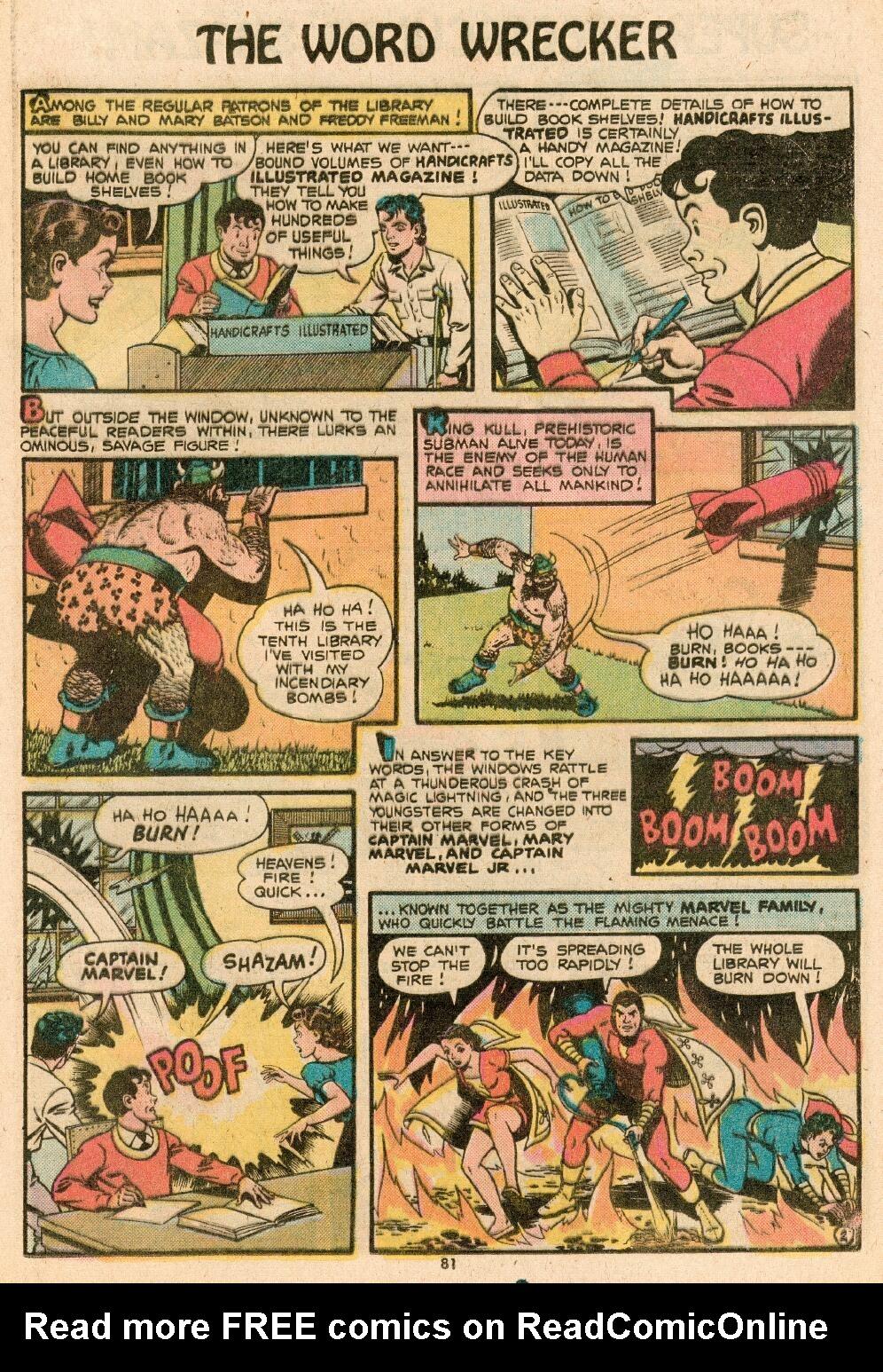 Read online Shazam! (1973) comic -  Issue #14 - 69