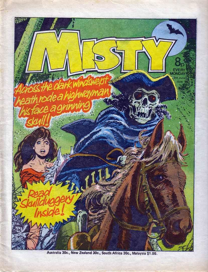 Misty (1978) 18 Page 1