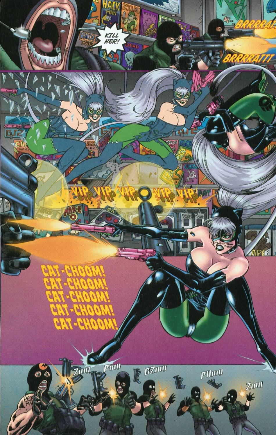 Read online 3 Little Kittens: Purrr-fect Weapons comic -  Issue #1 - 14