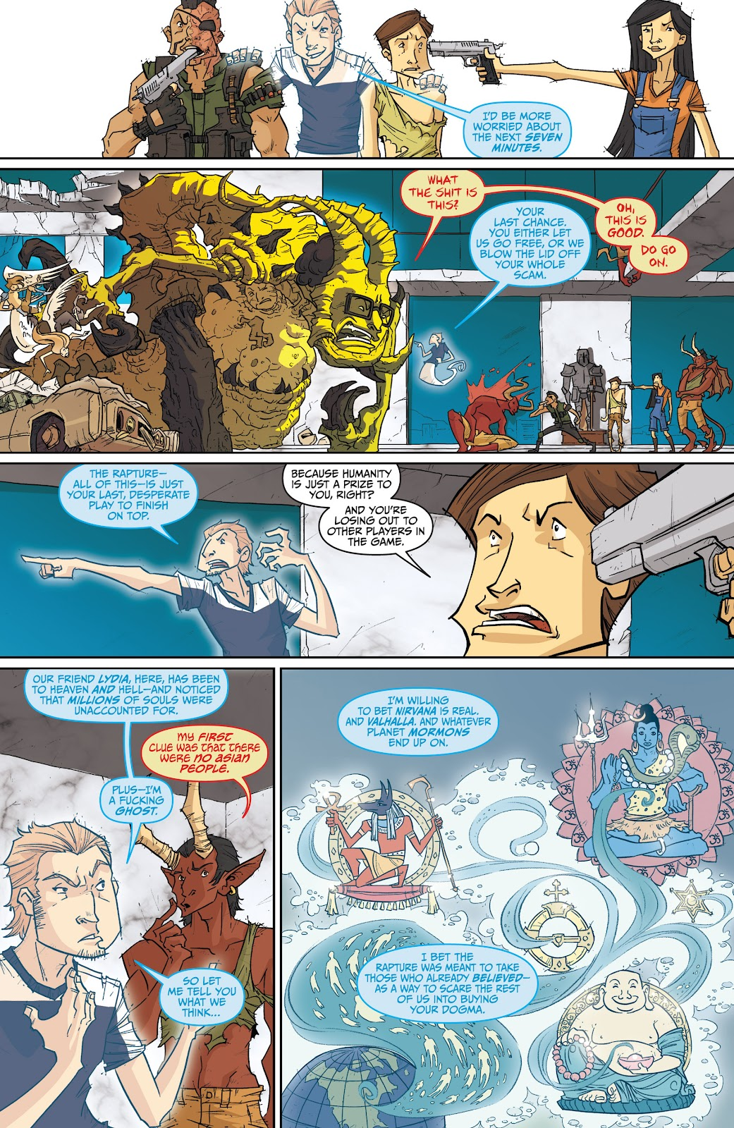 Read online The End Times of Bram and Ben comic -  Issue #4 - 23