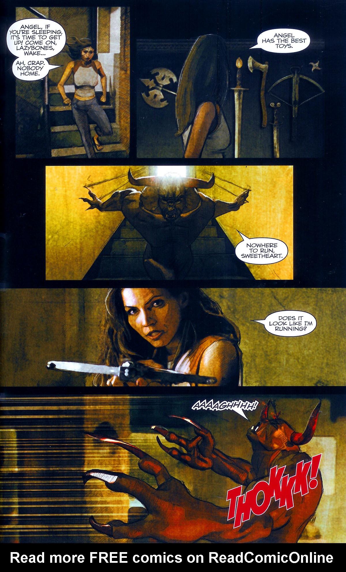 Read online Angel: Masks comic -  Issue # Full - 31