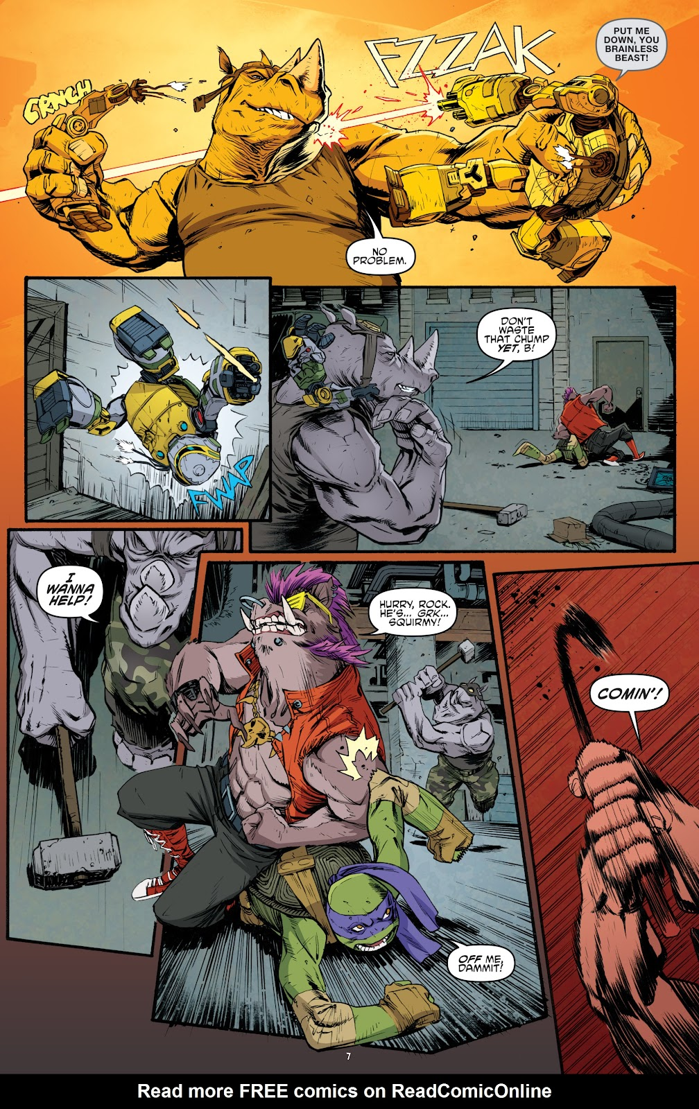 Read online Teenage Mutant Ninja Turtles: The IDW Collection comic -  Issue # TPB 5 (Part 4) - 39