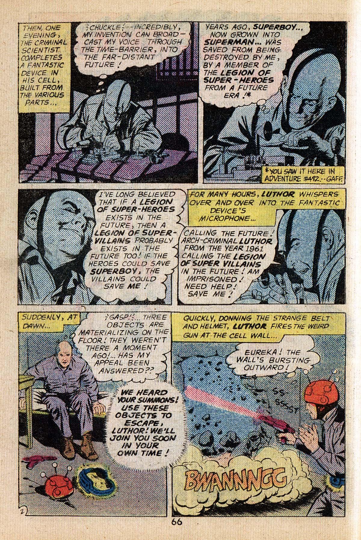 Read online Adventure Comics (1938) comic -  Issue #494 - 66