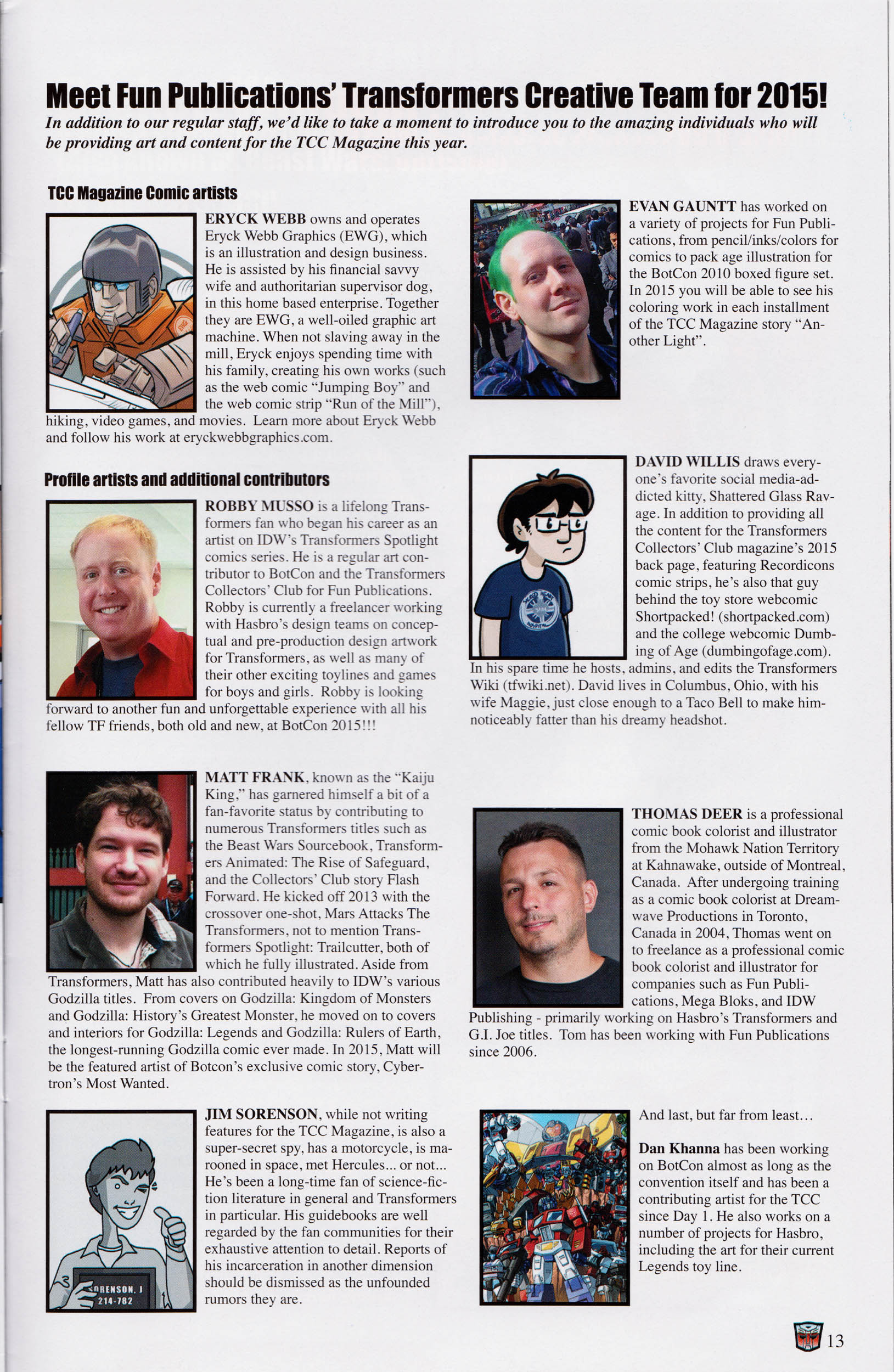 Read online Transformers: Collectors' Club comic -  Issue #61 - 13