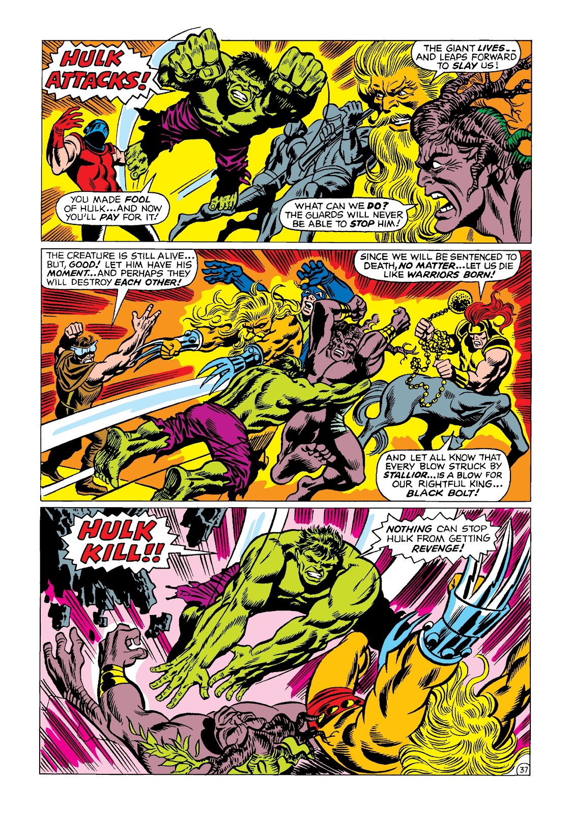 Read online Marvel Masterworks: The Incredible Hulk comic -  Issue # TPB 4 (Part 2) - 70