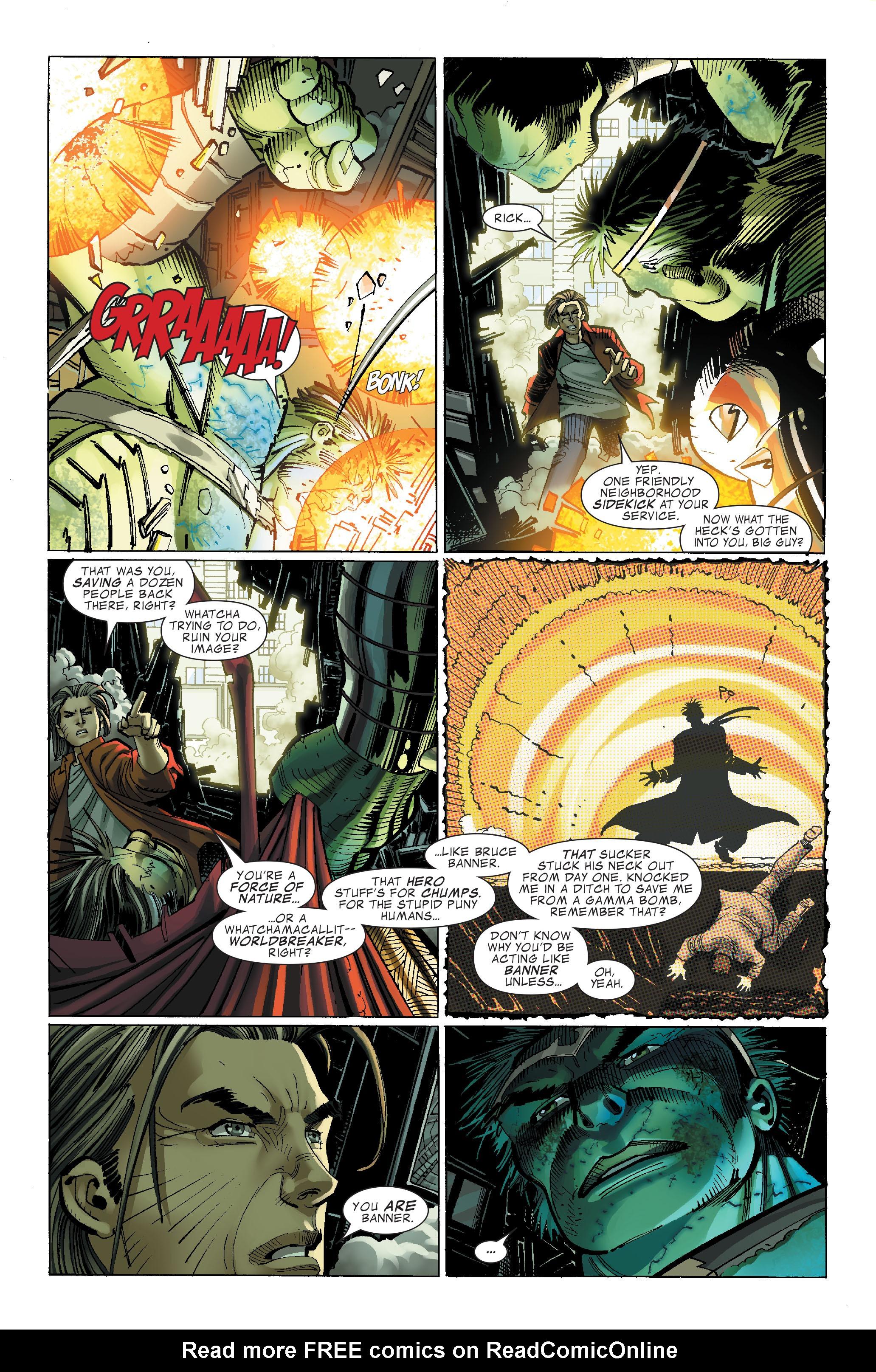 Read online World War Hulk comic -  Issue #4 - 15