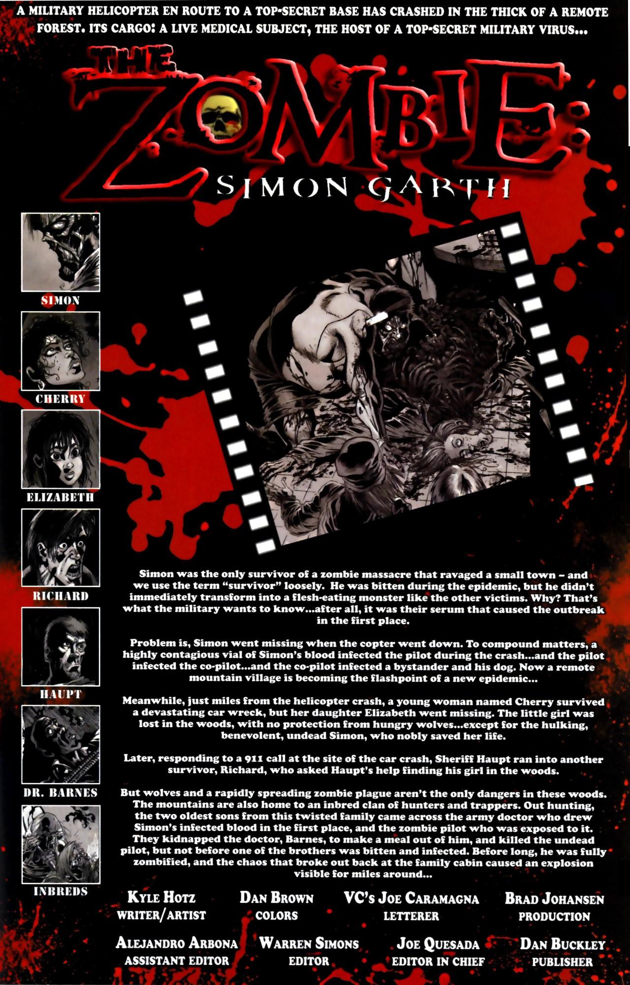 The Zombie: Simon Garth 3 Page 2