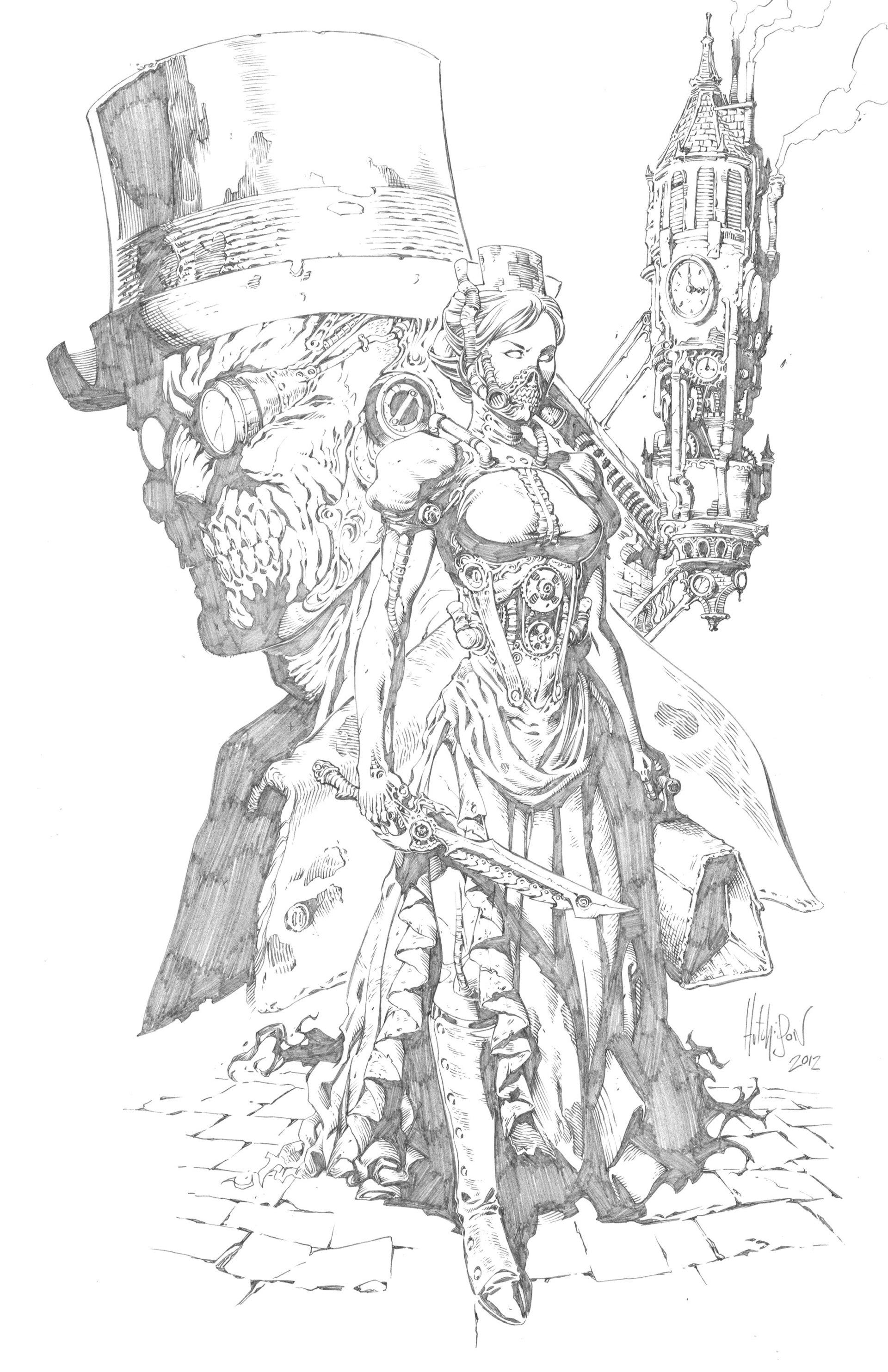 Read online Steampunk Halloween 2012 comic -  Issue # Full - 17