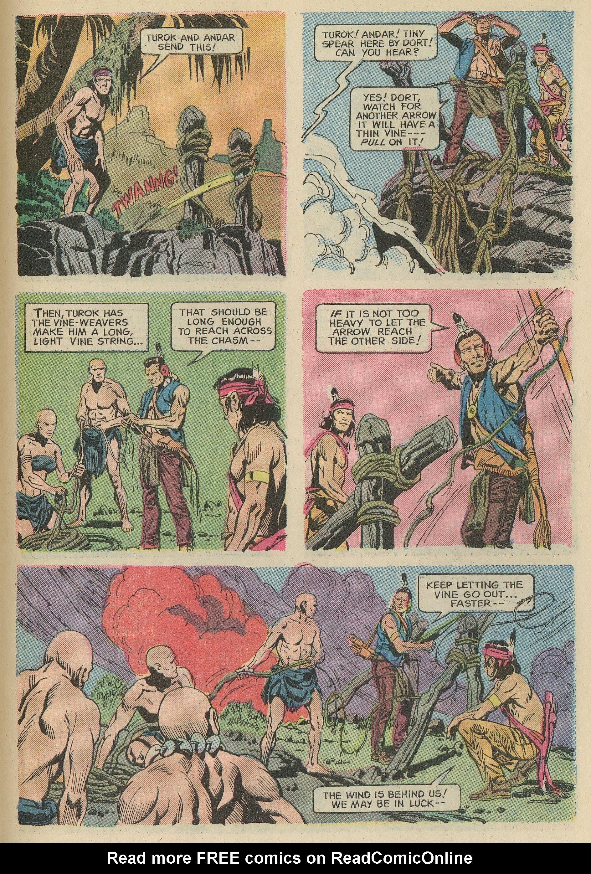 Read online Turok, Son of Stone comic -  Issue #78 - 27