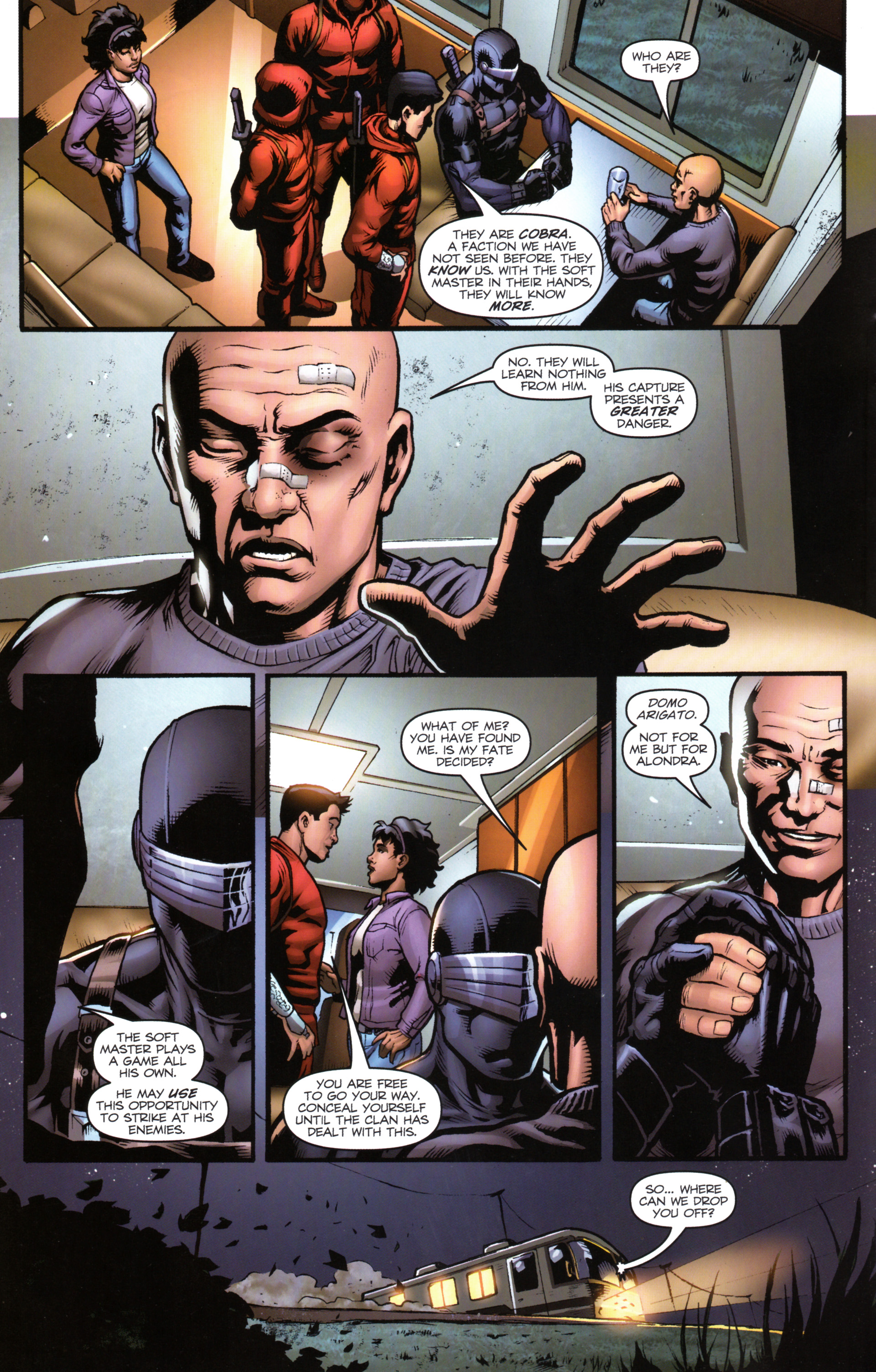 Read online Snake Eyes and Storm Shadow comic -  Issue #17 - 16
