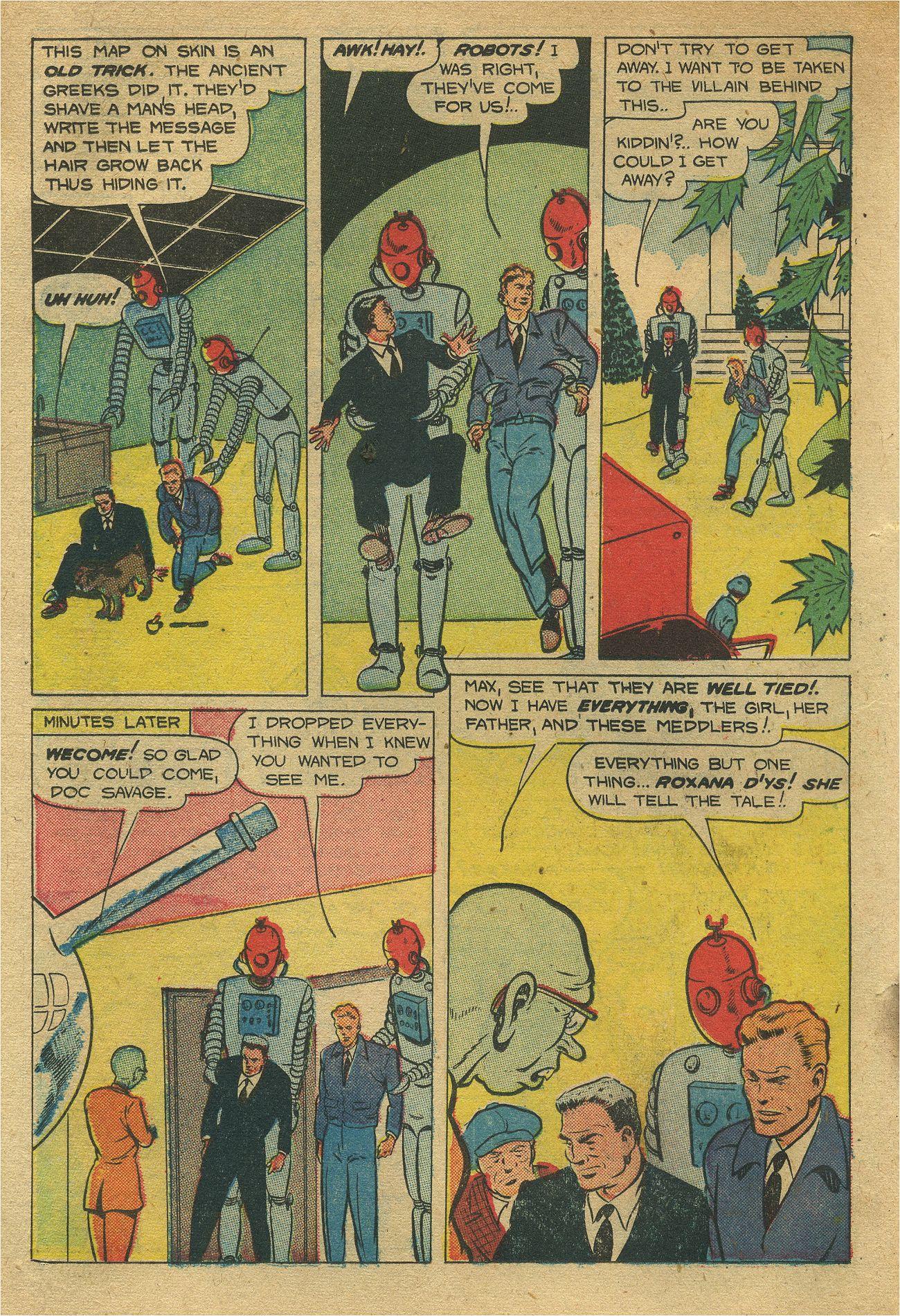 Read online Shadow Comics comic -  Issue #93 - 27
