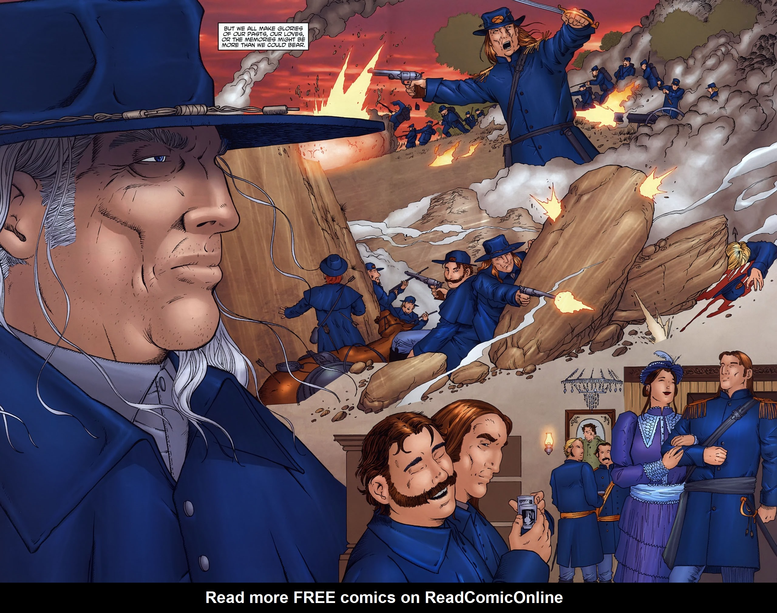 Read online Garth Ennis' Streets of Glory comic -  Issue #6 - 32