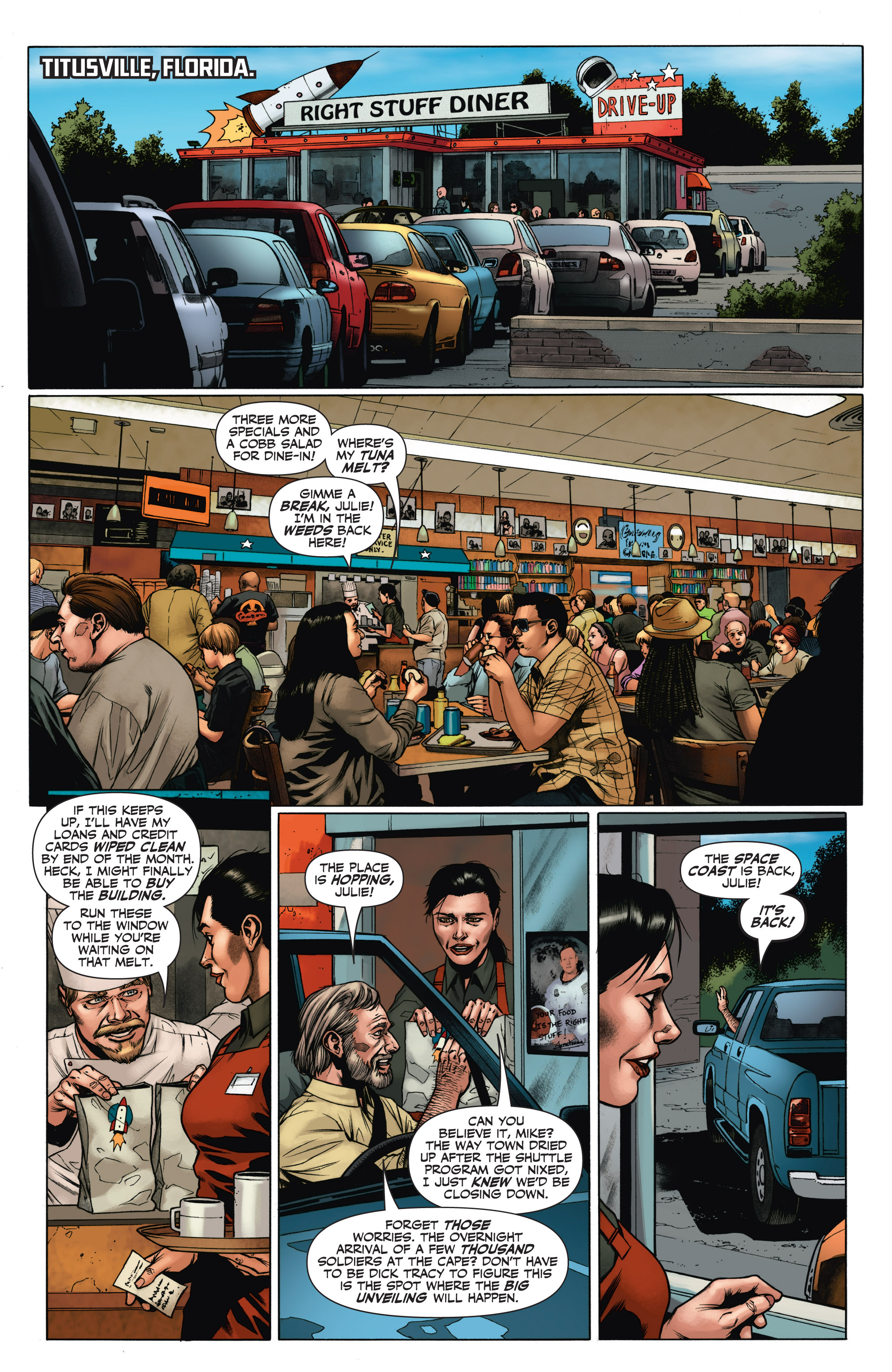 Read online Armor Hunters: Aftermath comic -  Issue # Full - 3