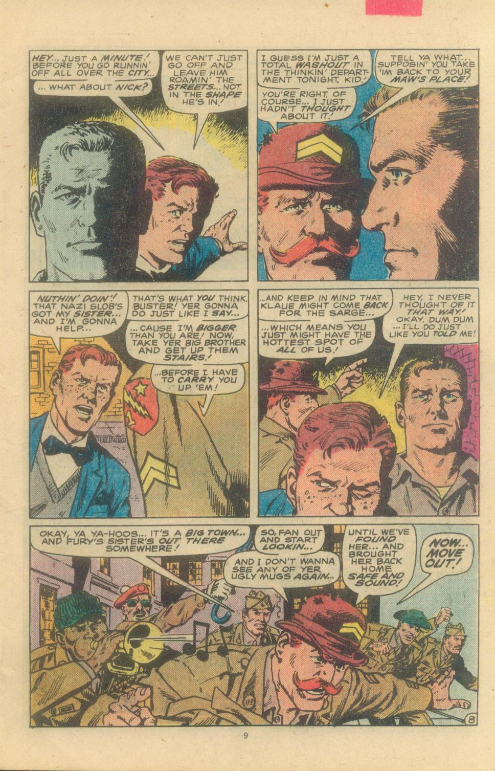 Read online Sgt. Fury comic -  Issue #163 - 11