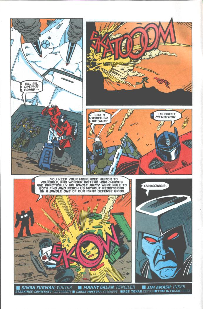 Read online Transformers: Generation 2 comic -  Issue #10 - 3