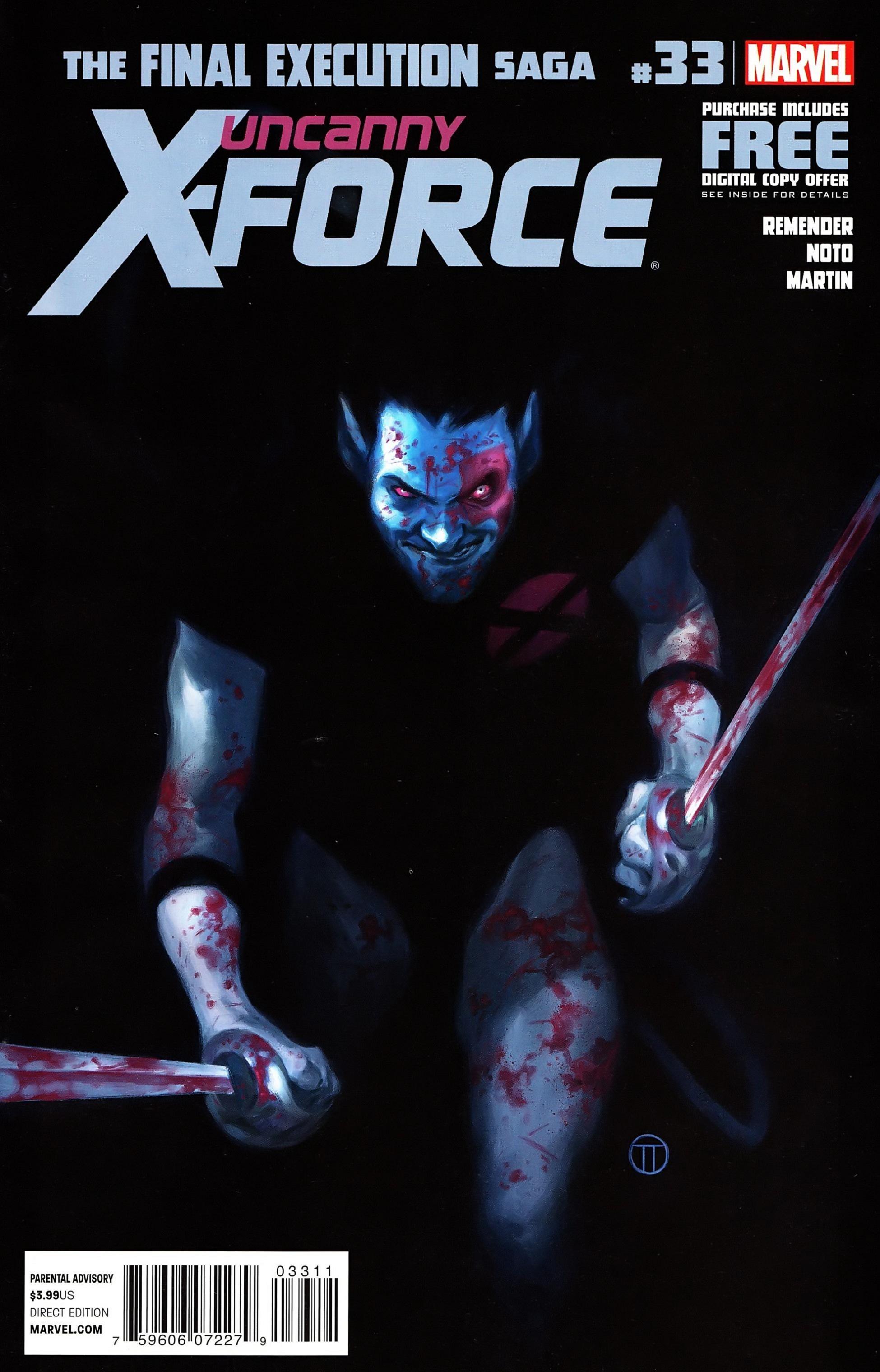 Uncanny X-Force (2010) #33 #35 - English 1
