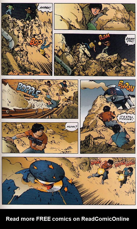 Read online Akira comic -  Issue #25 - 58
