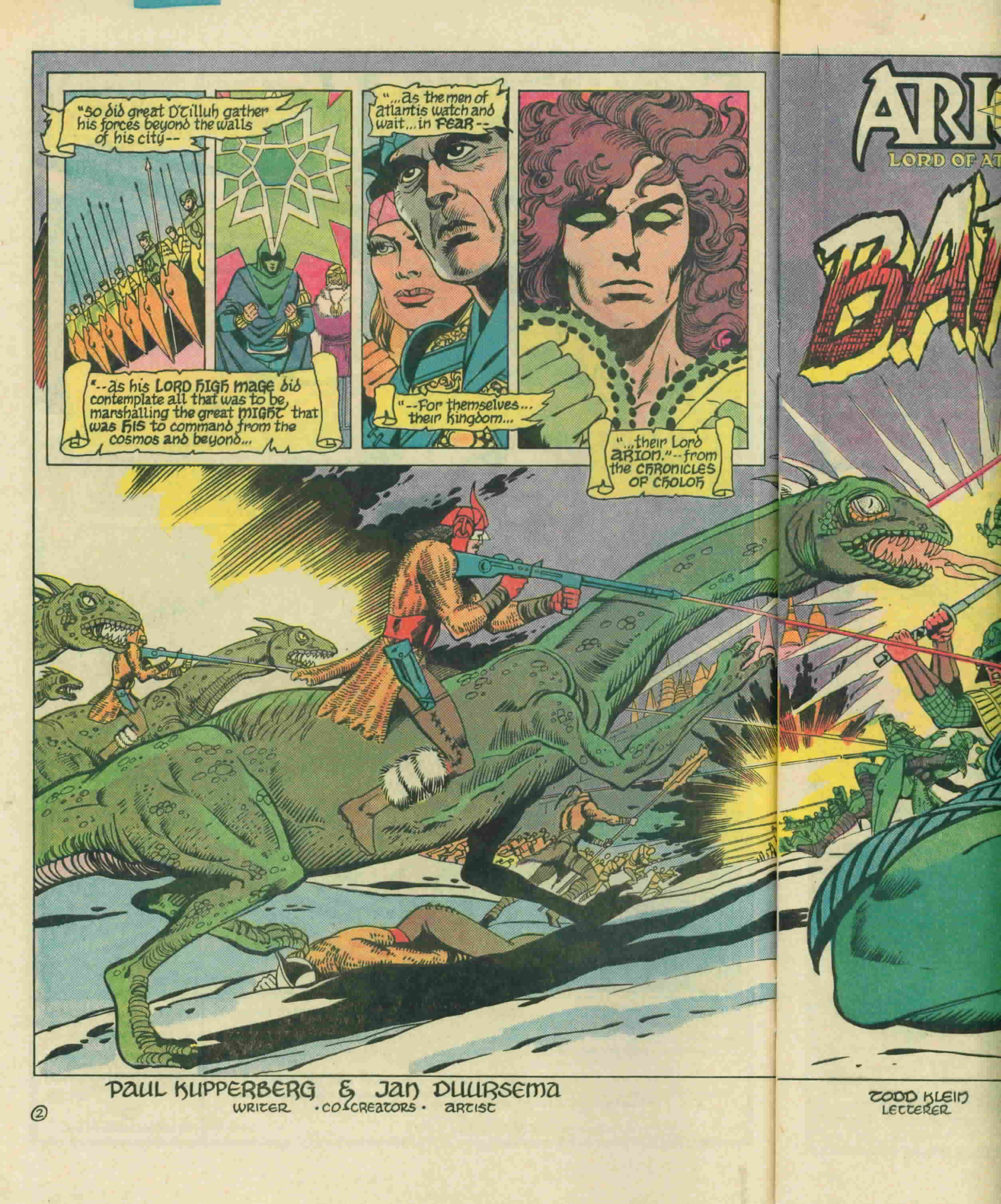 Read online Arion, Lord of Atlantis comic -  Issue #3 - 5