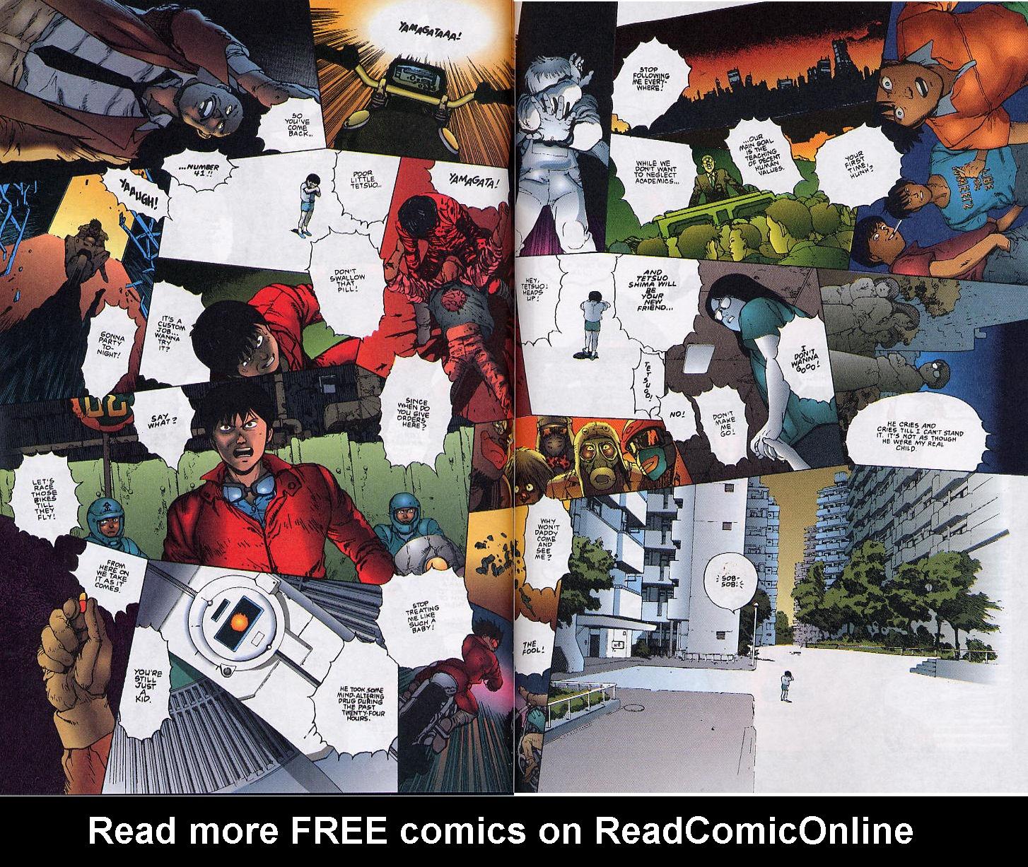 Read online Akira comic -  Issue #36 - 52