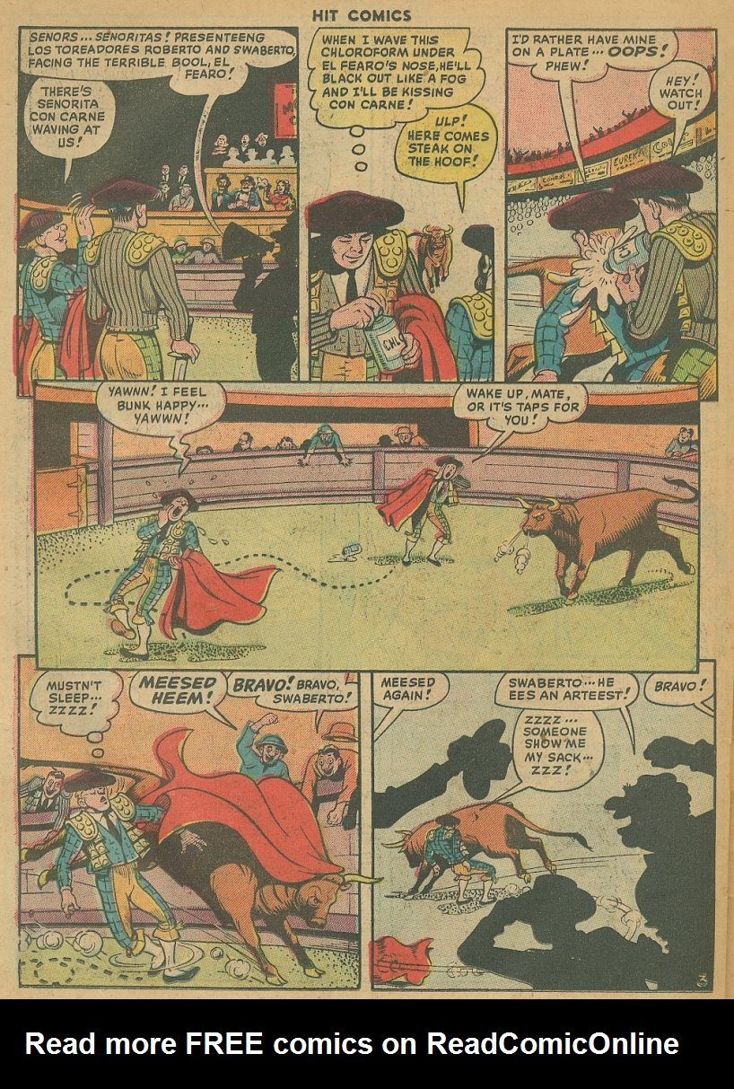Read online Hit Comics comic -  Issue #61 - 24
