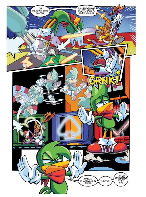 Read online Sonic Comics Spectacular: Speed of Sound comic -  Issue # Full - 42