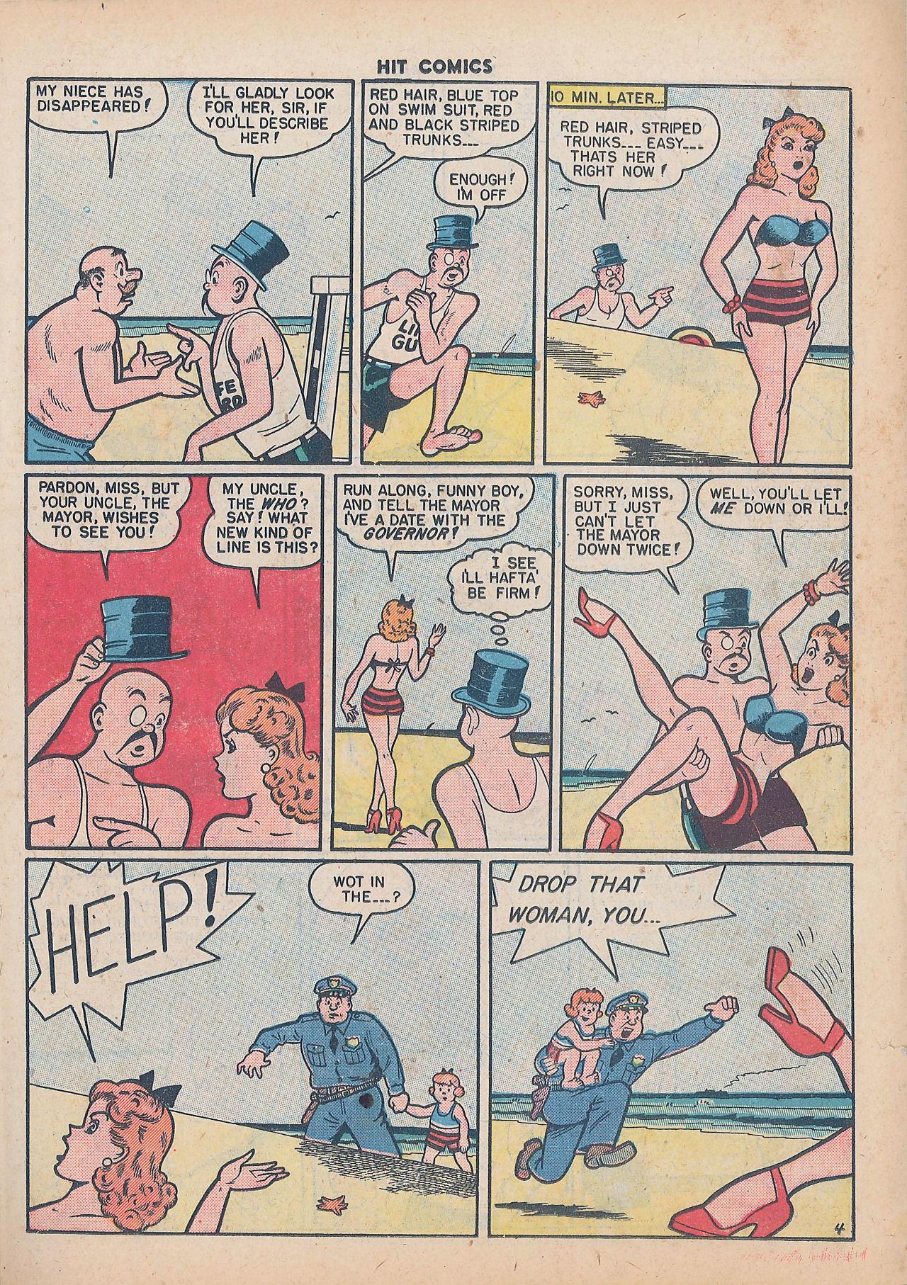Read online Hit Comics comic -  Issue #64 - 19