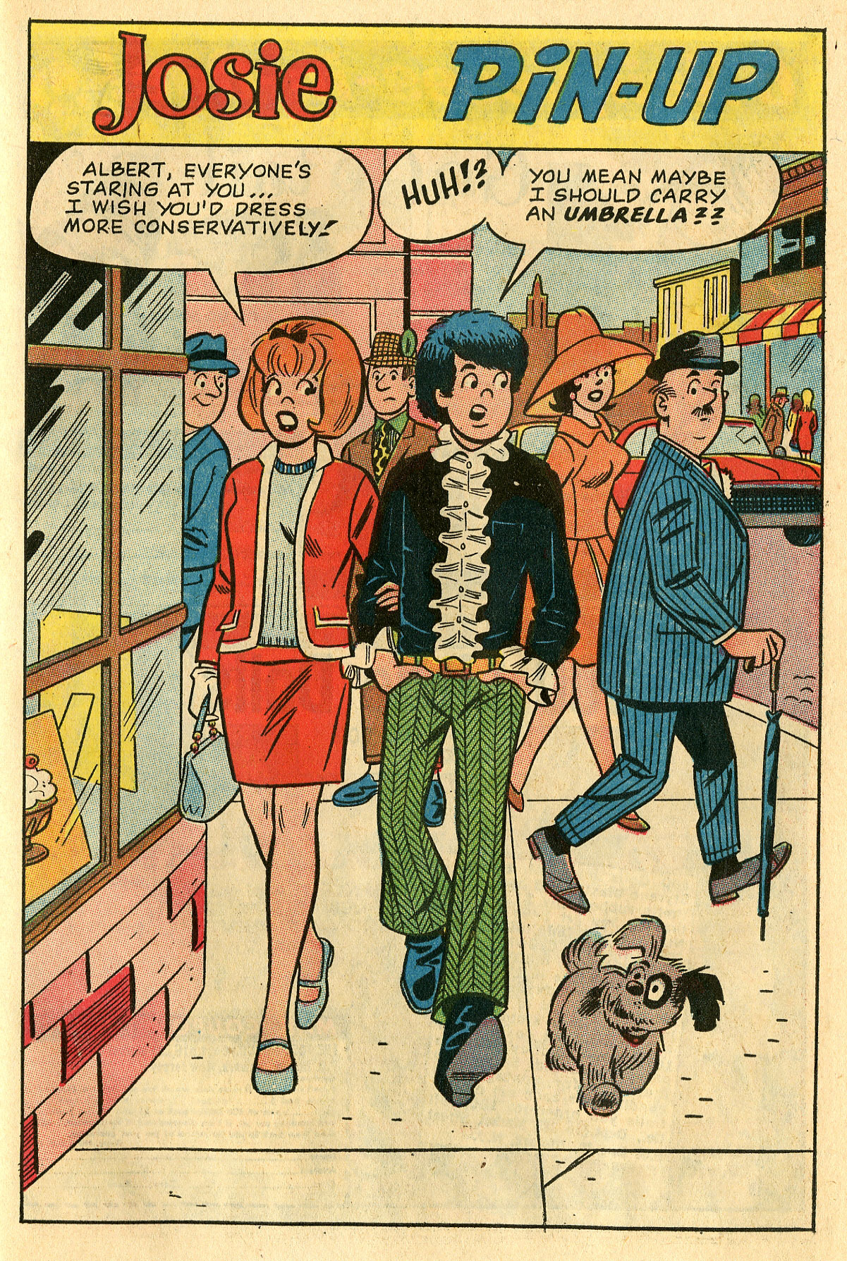 Read online She's Josie comic -  Issue #28 - 27