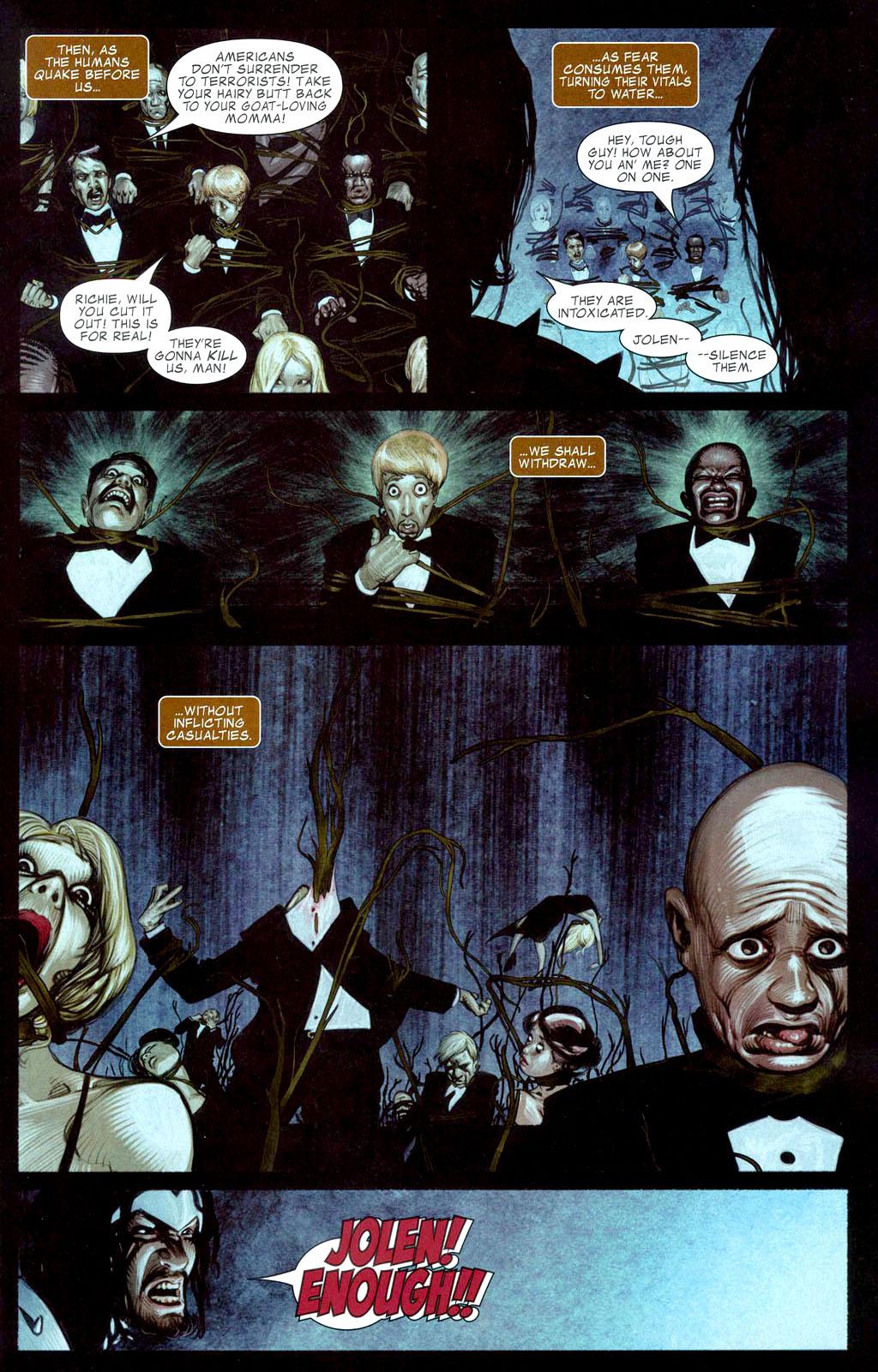 Read online Silent War comic -  Issue #1 - 7
