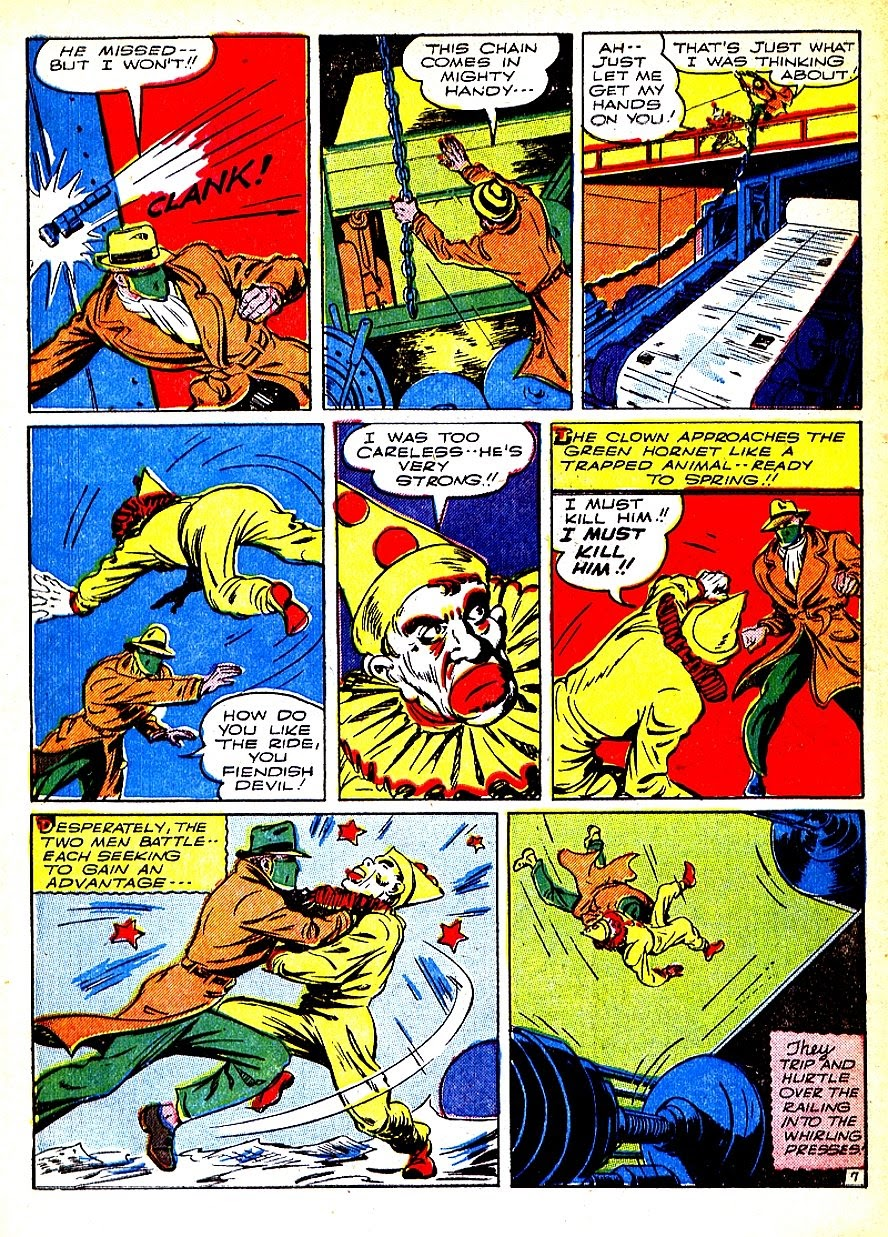 Green Hornet Comics issue 7 - Page 10