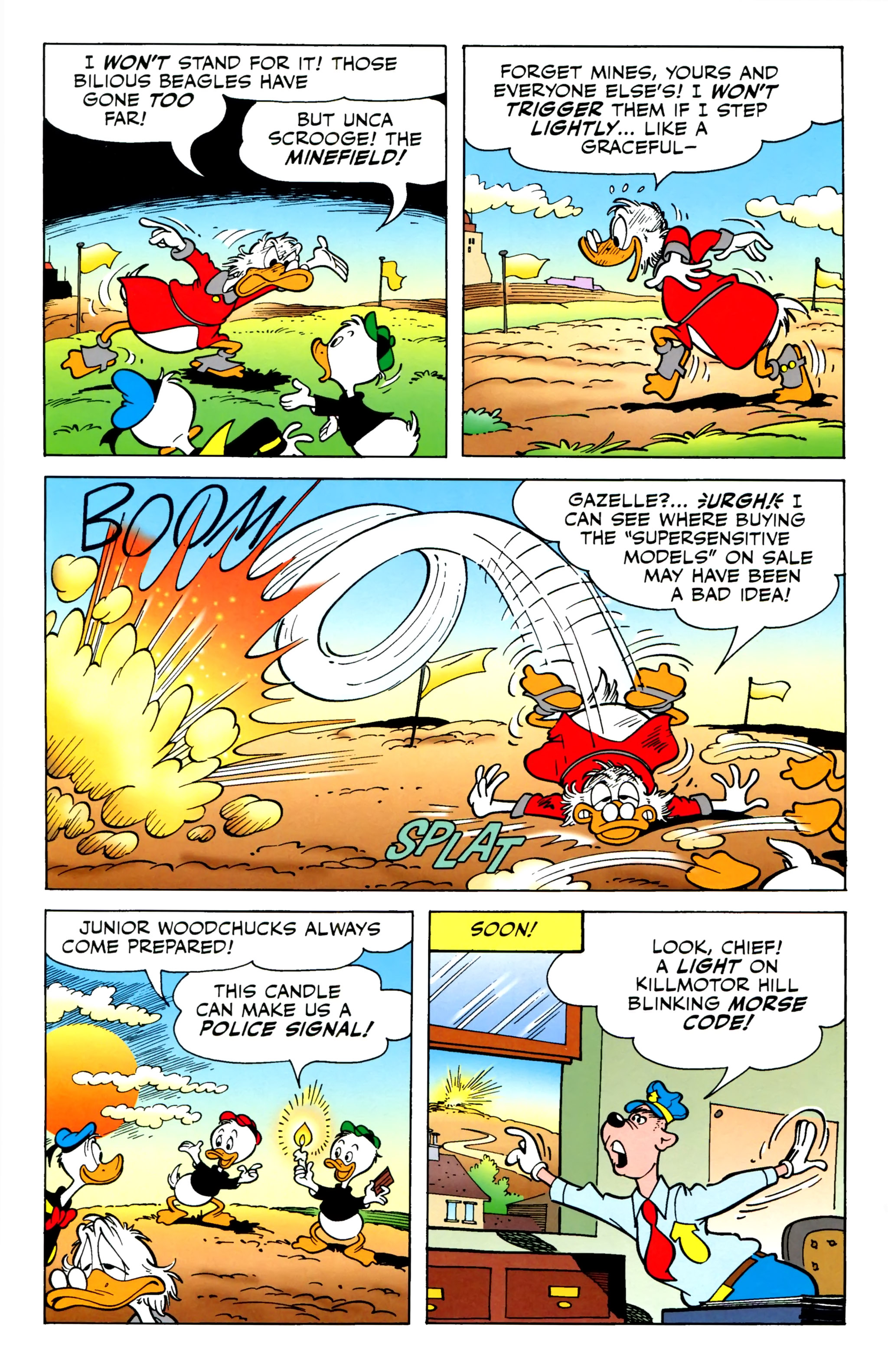 Read online Uncle Scrooge (2015) comic -  Issue #1 - 22