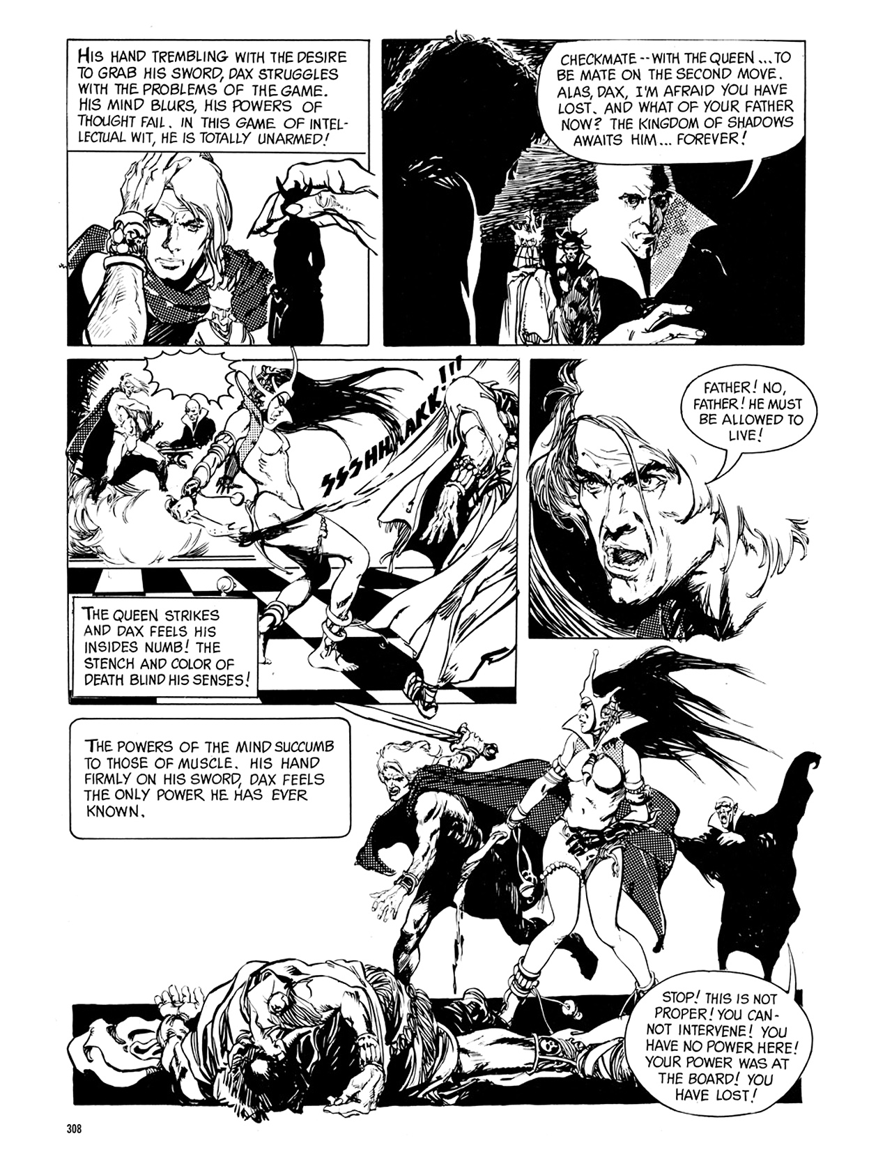 Read online Eerie Archives comic -  Issue # TPB 8 - 309