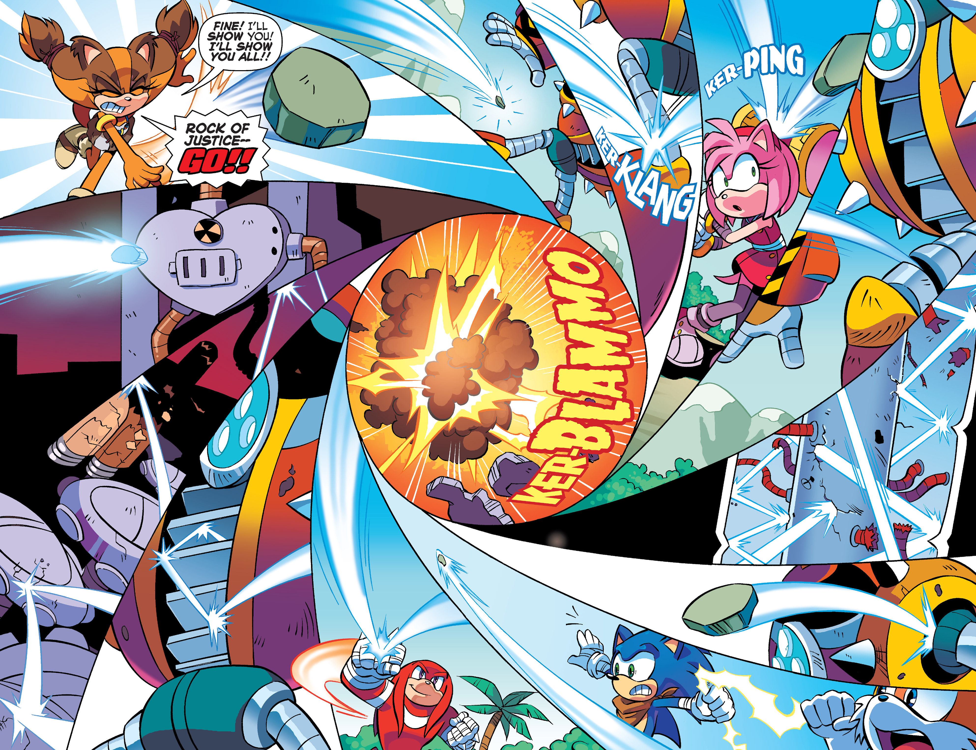 Read online Sonic Boom comic -  Issue #4 - 15