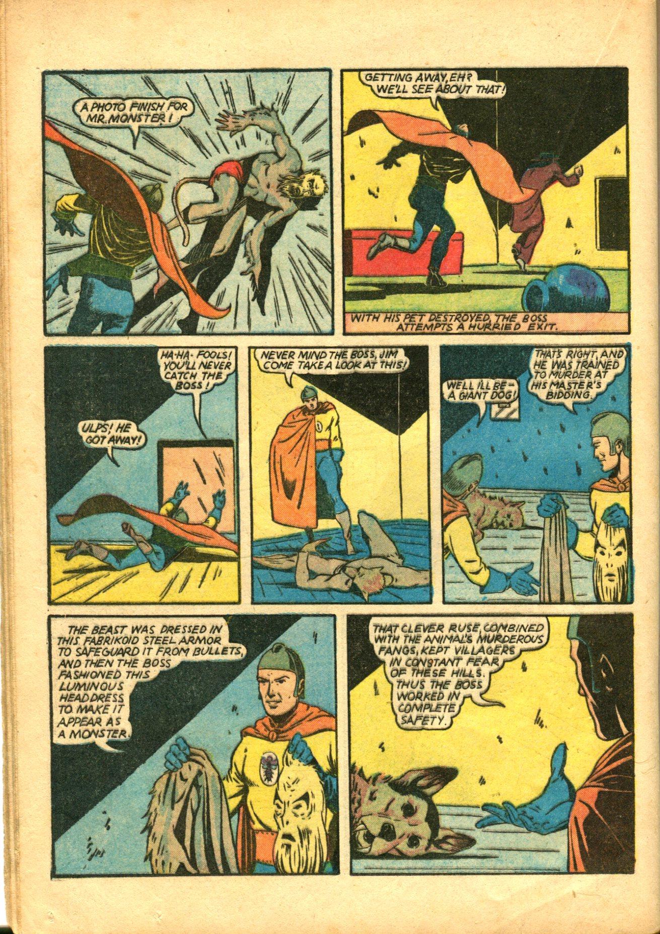 Read online Shadow Comics comic -  Issue #10 - 46