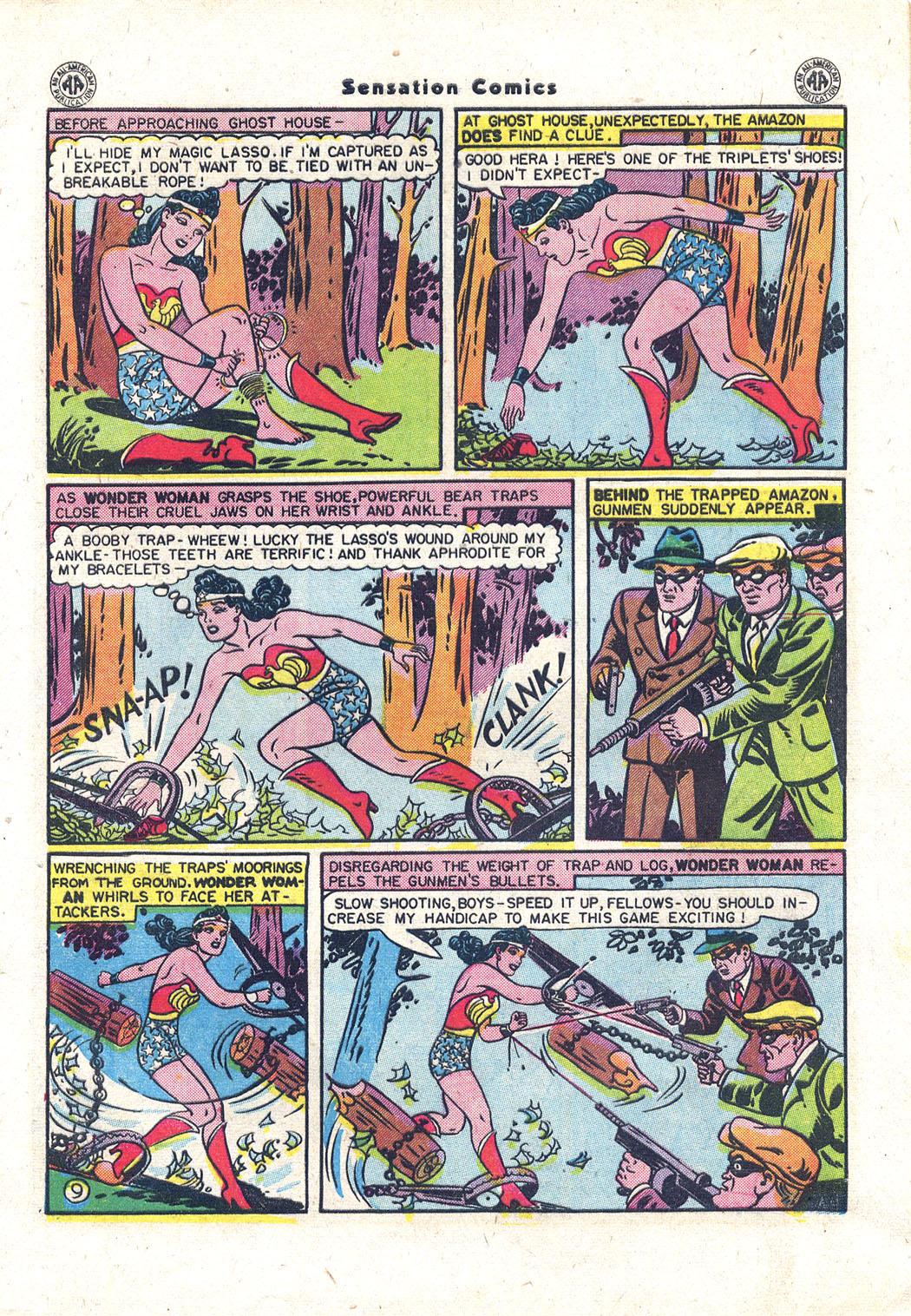 Read online Sensation (Mystery) Comics comic -  Issue #43 - 10