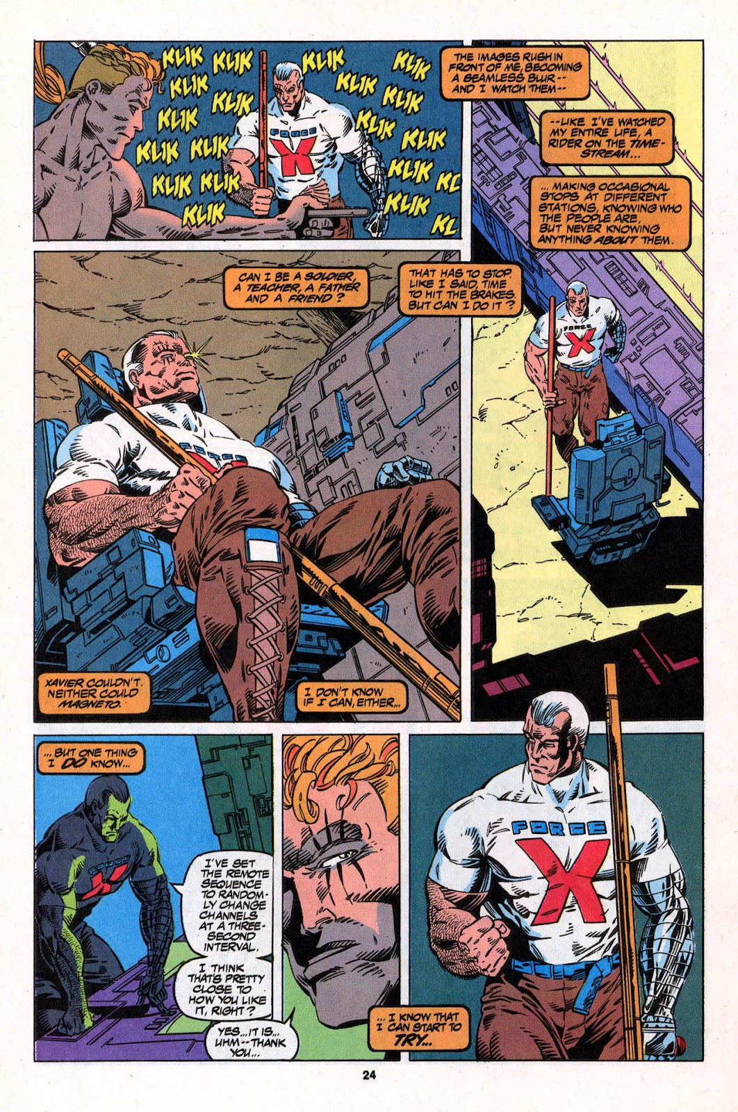 X-Force (1991) Issue #26 #31 - English 24