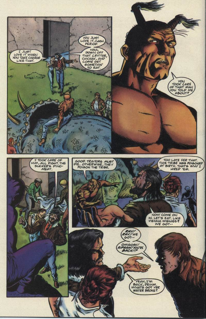 Read online Turok, Dinosaur Hunter (1993) comic -  Issue #21 - 16