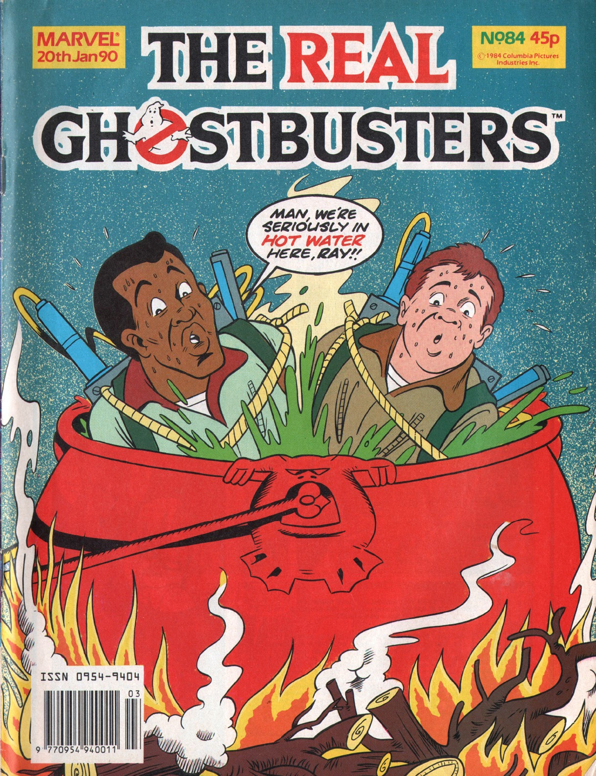 The Real Ghostbusters 84 Page 1